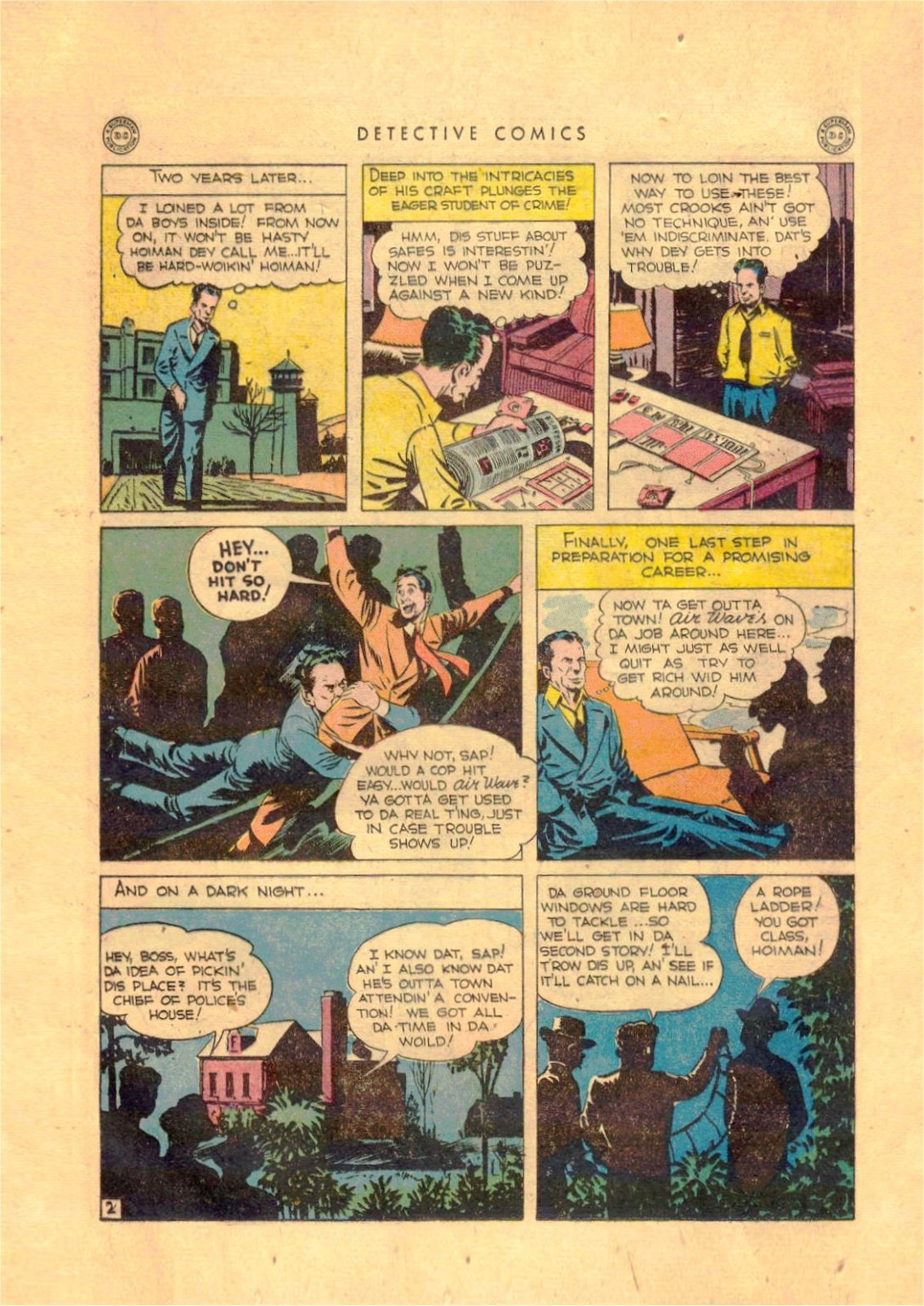 Read online Detective Comics (1937) comic -  Issue #92 - 18