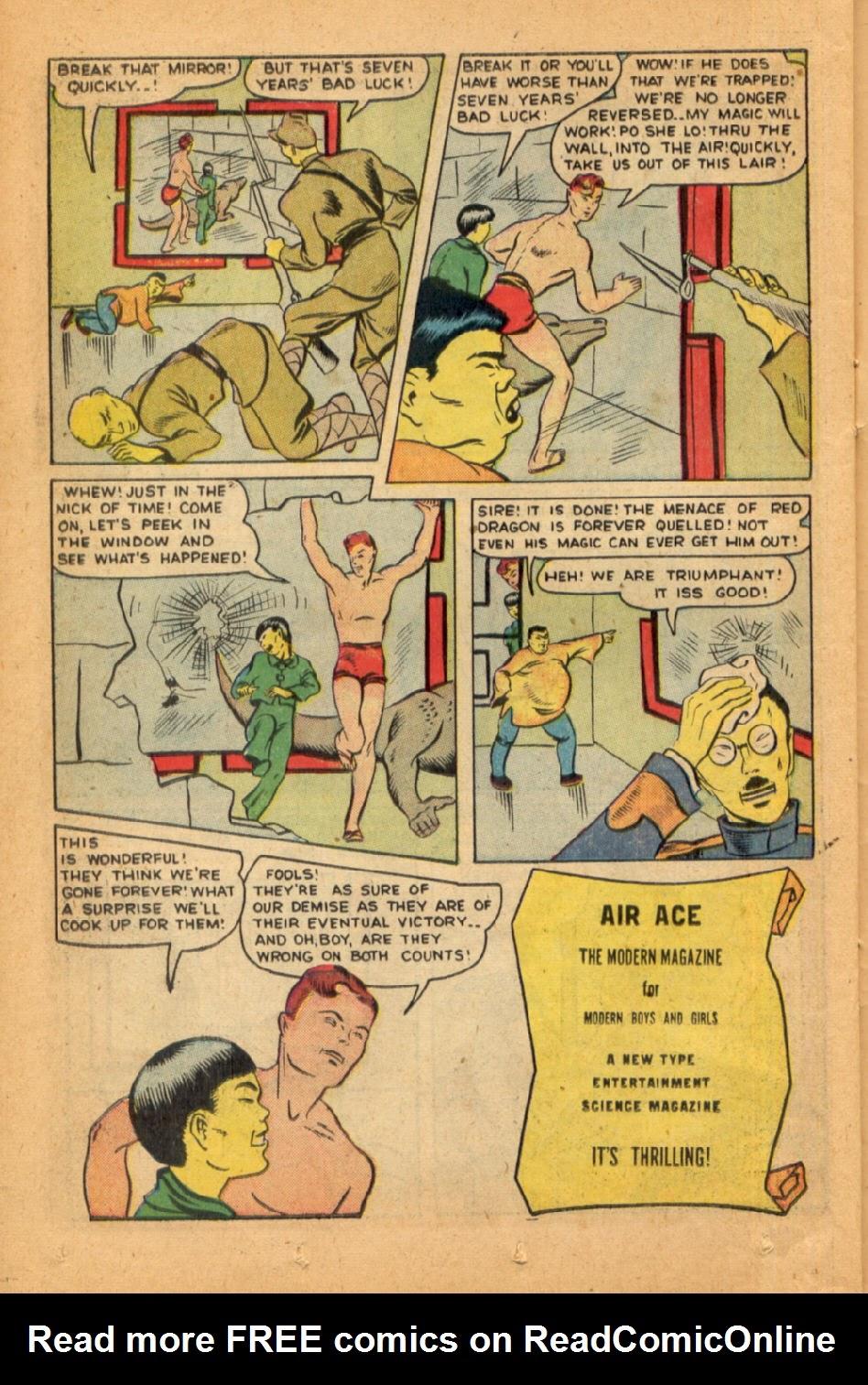 Read online Super-Magician Comics comic -  Issue #45 - 34