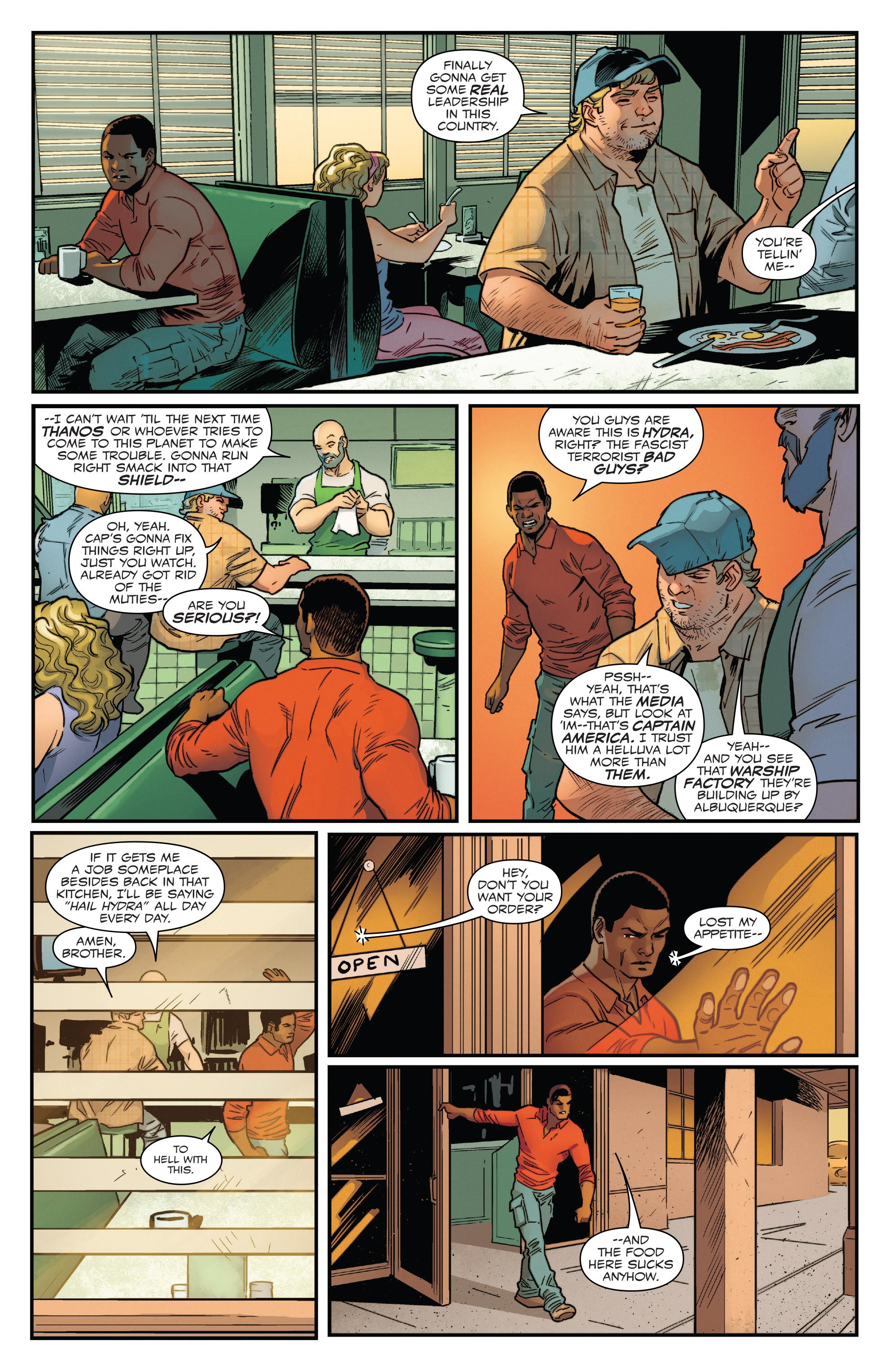 Read online Captain America: Sam Wilson comic -  Issue #22 - 9