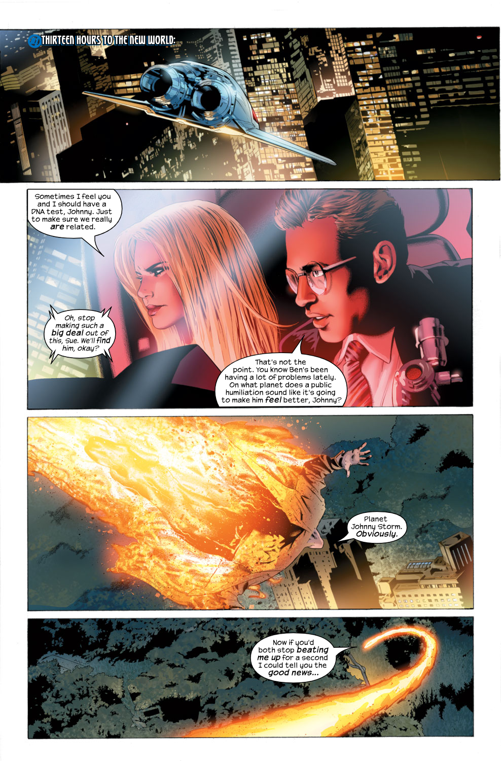 Read online Ultimate Fantastic Four (2004) comic -  Issue #27 - 16