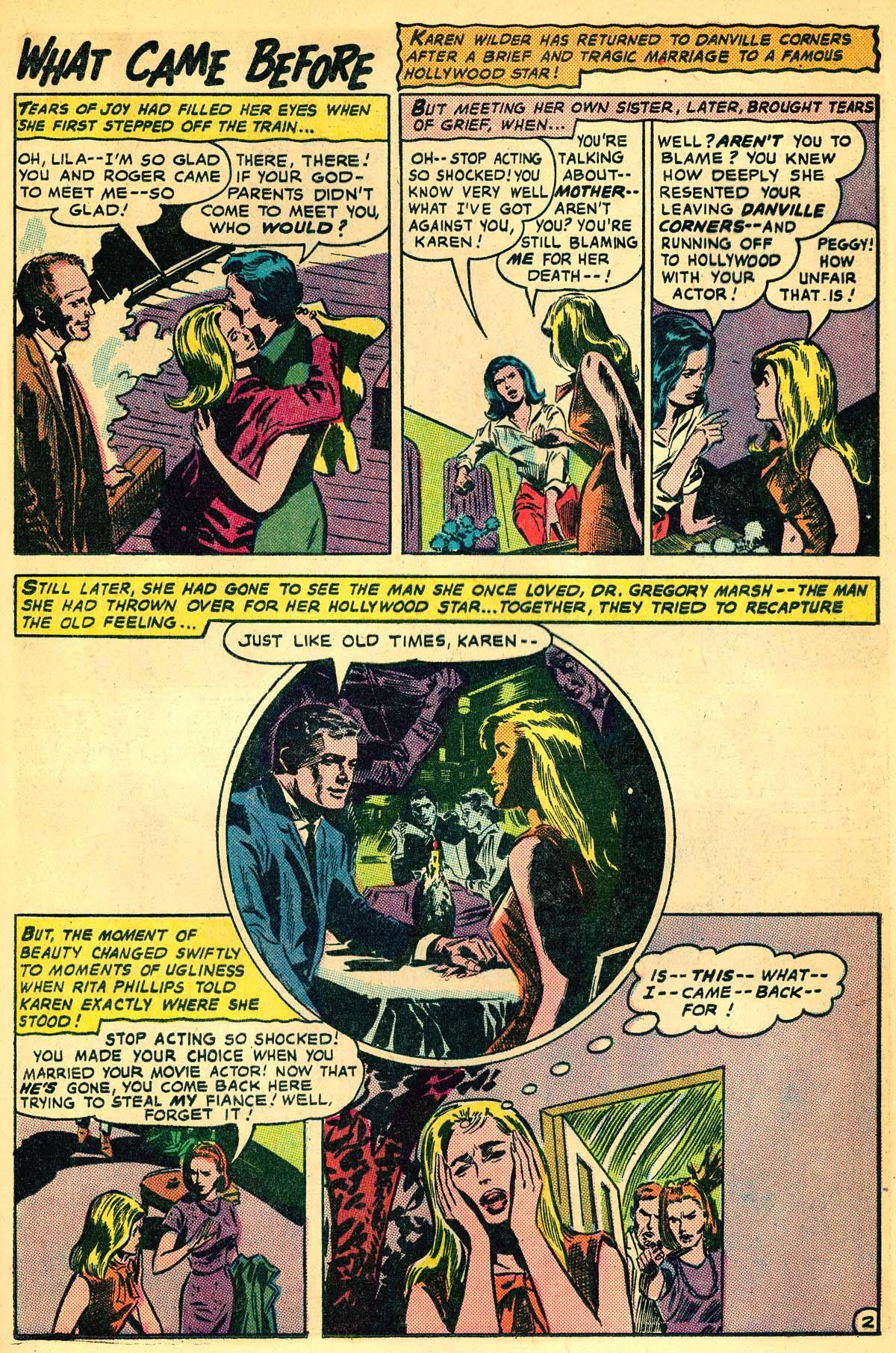 Read online Secret Hearts comic -  Issue #111 - 21