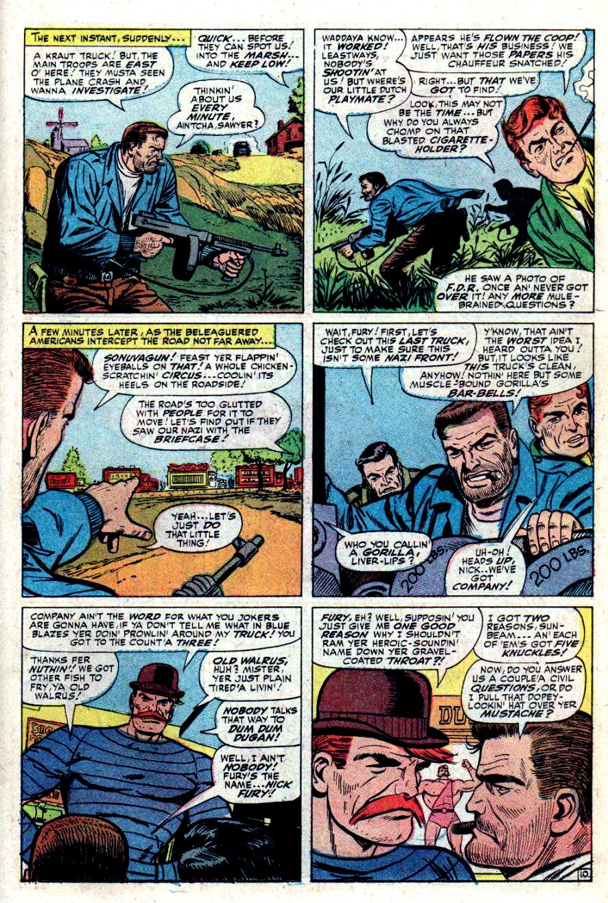 Read online Sgt. Fury comic -  Issue #34 - 15