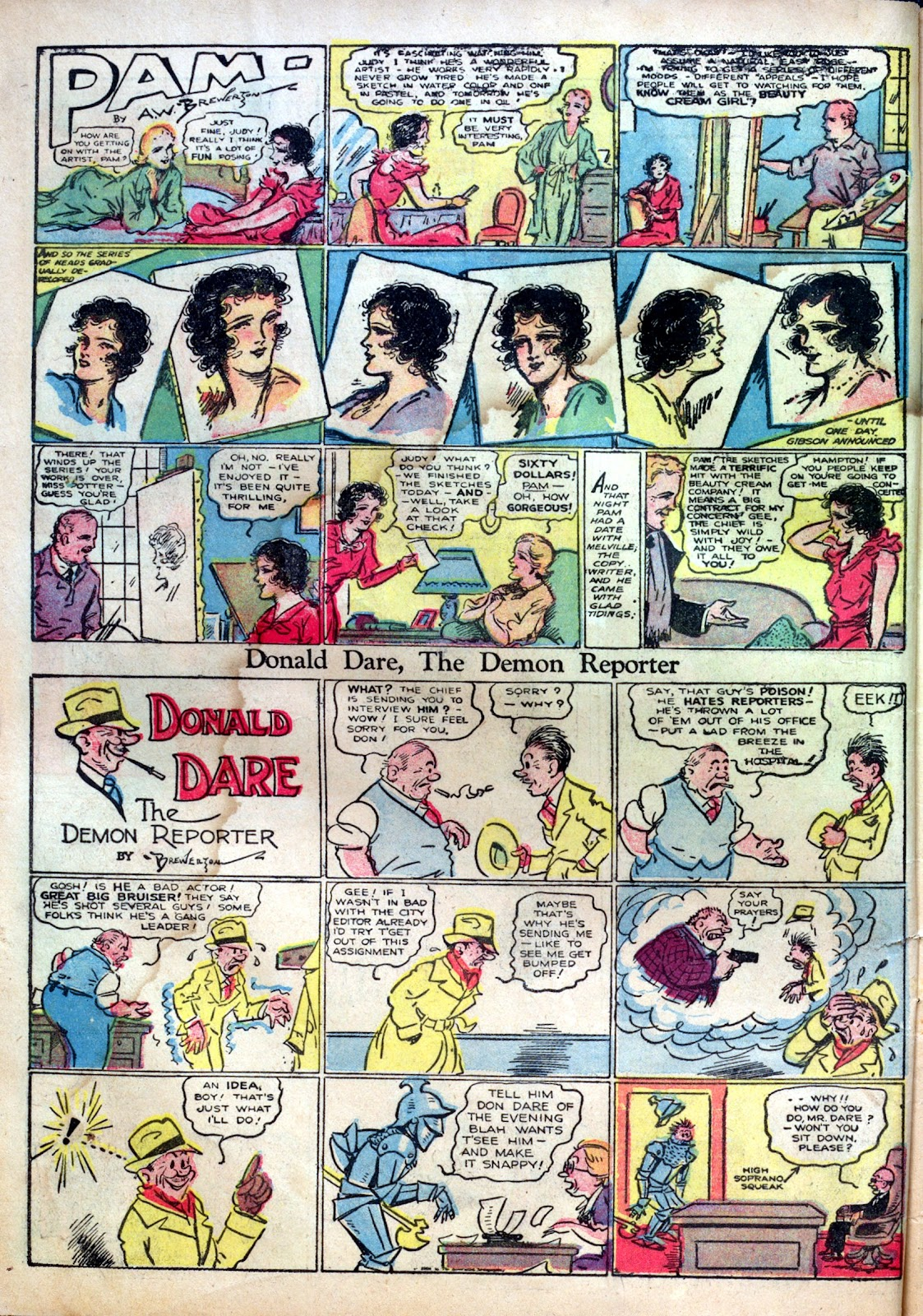Read online Famous Funnies comic -  Issue #1 - 10