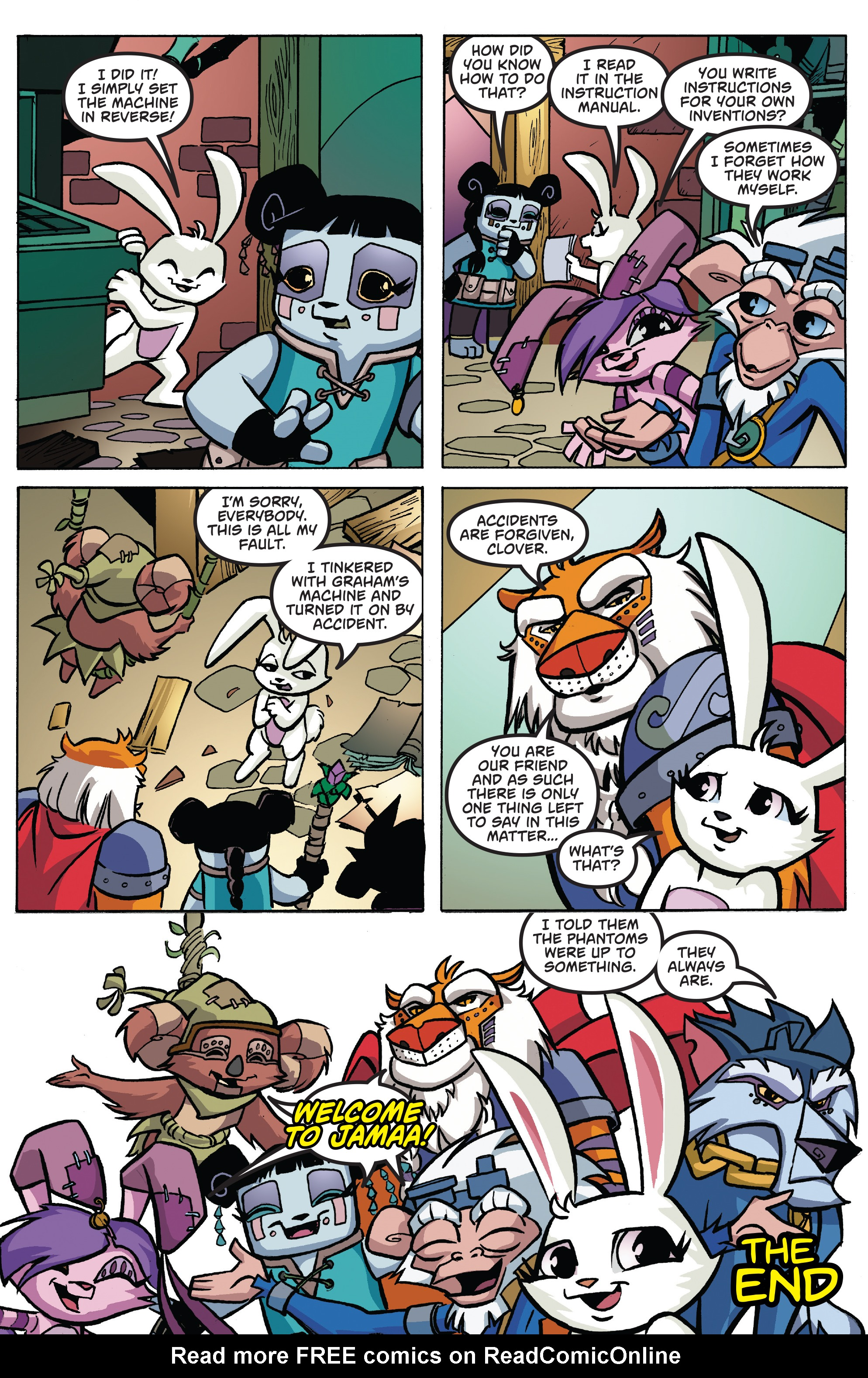 Read online Free Comic Book Day 2017 comic -  Issue # Animal Jam - 22