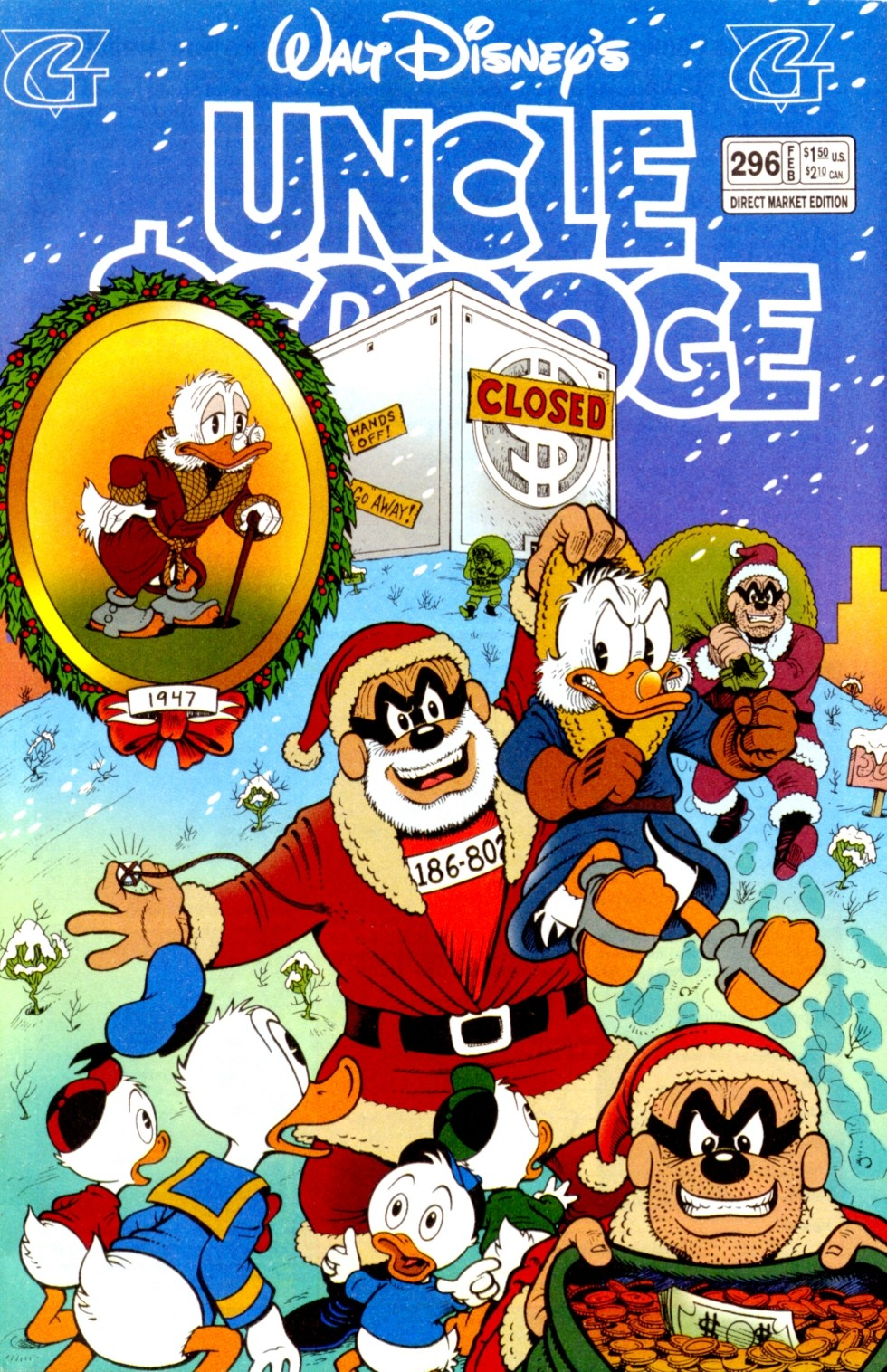 Read online Uncle Scrooge (1953) comic -  Issue #296 - 1