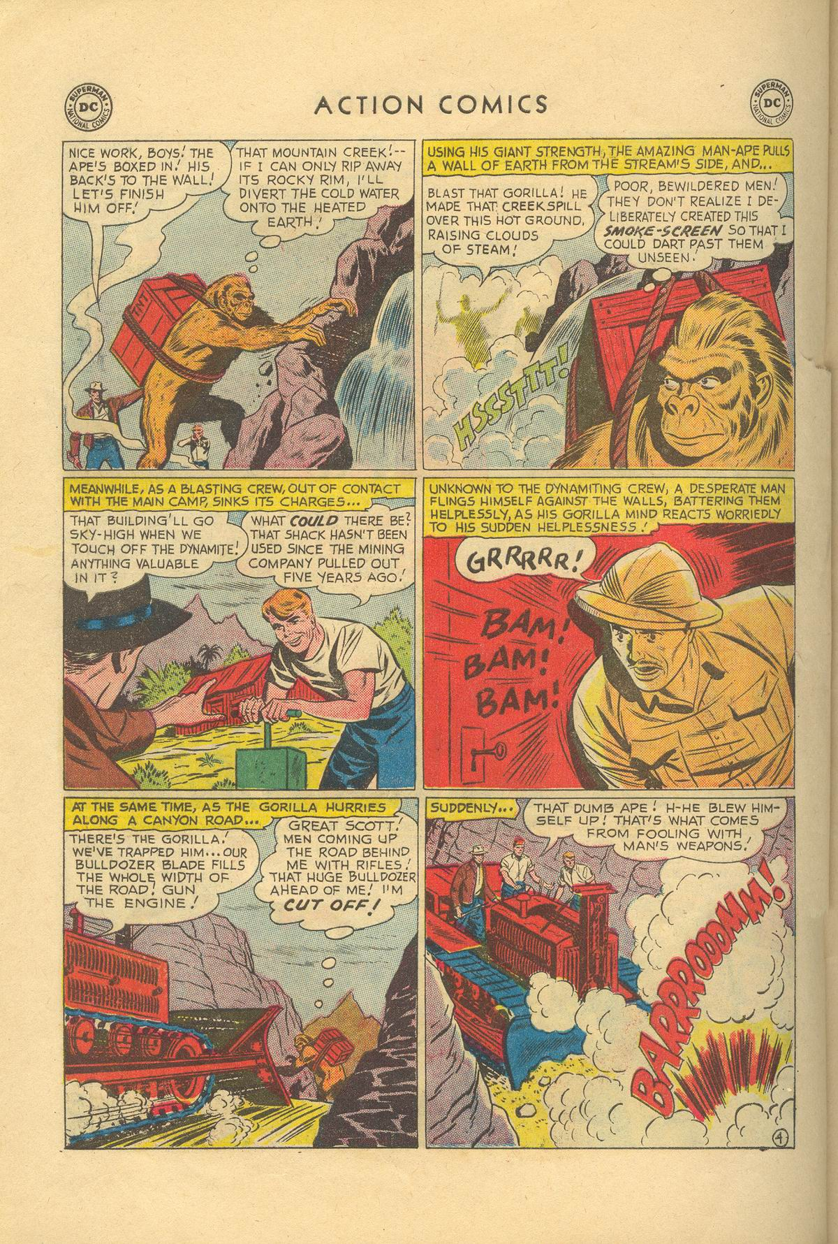 Read online Action Comics (1938) comic -  Issue #249 - 22