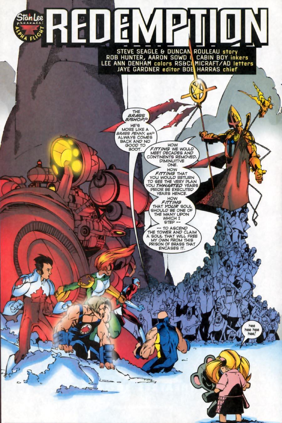Read online Alpha Flight (1997) comic -  Issue #16 - 6