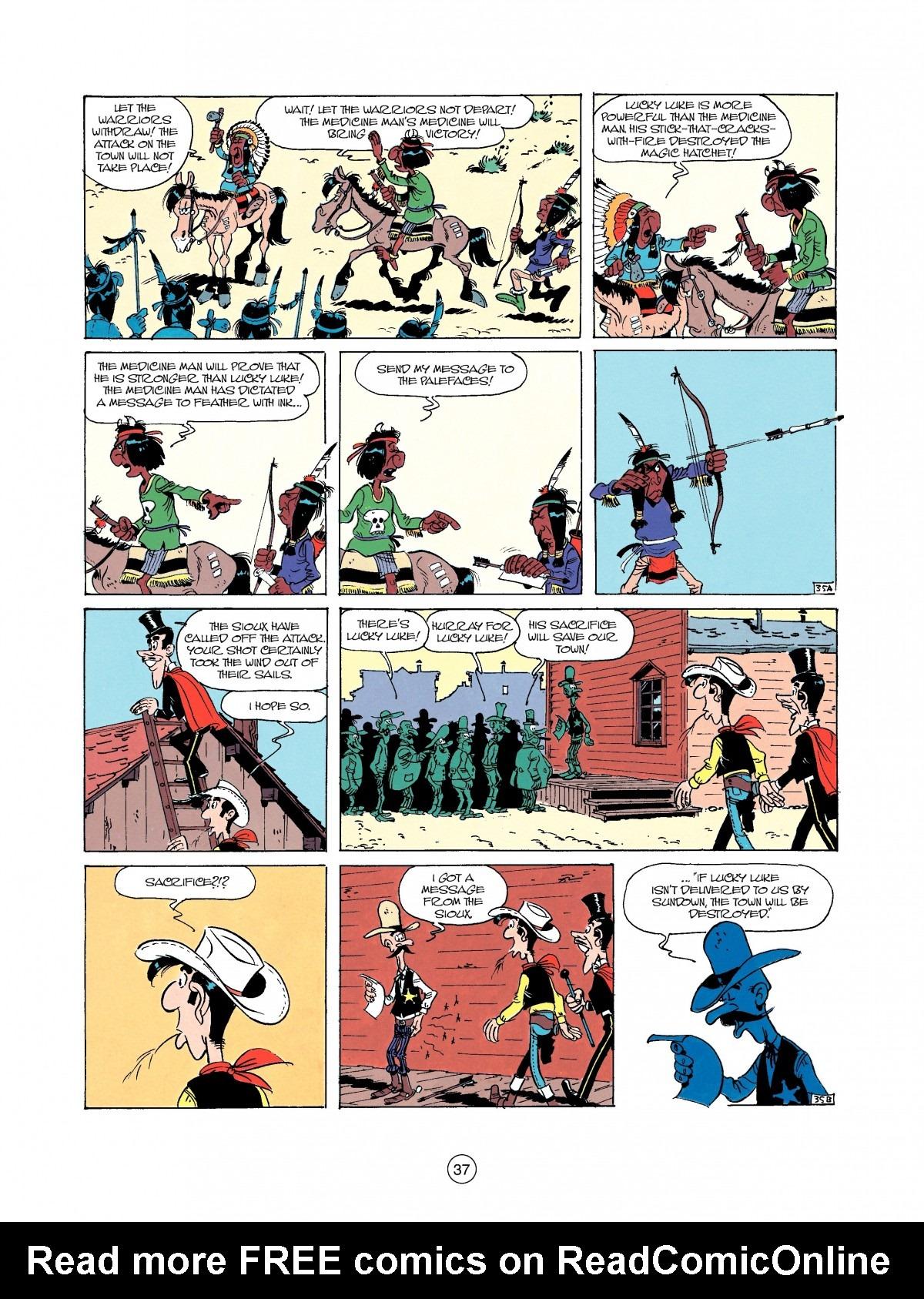 Read online A Lucky Luke Adventure comic -  Issue #37 - 37