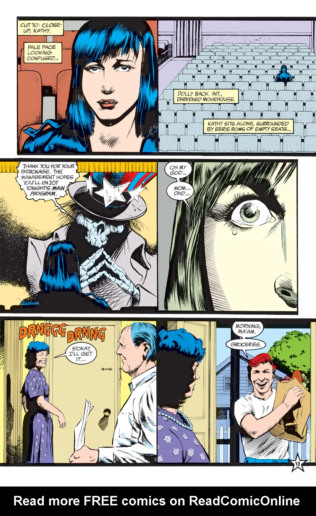 Read online Shade, the Changing Man comic -  Issue #6 - 12