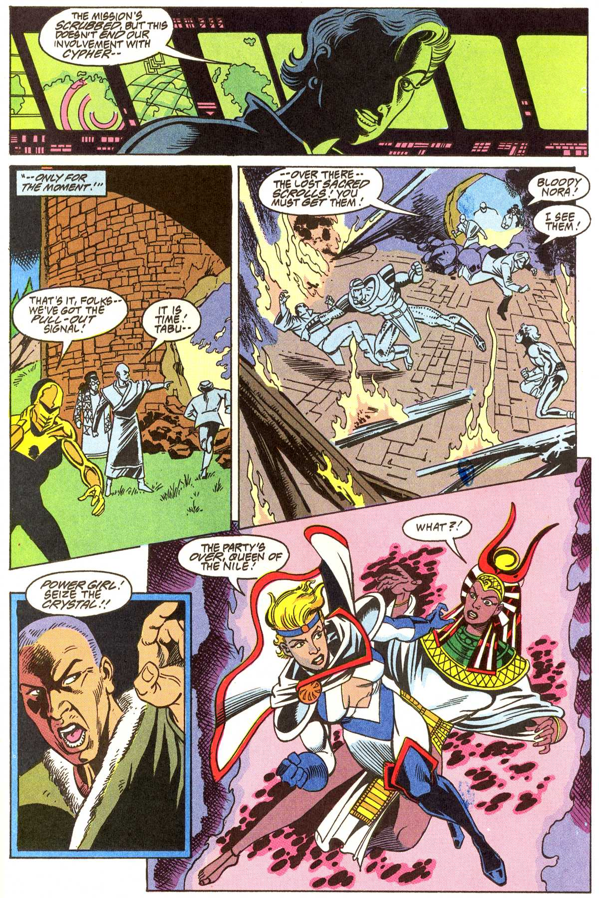 Read online Peter Cannon--Thunderbolt (1992) comic -  Issue #11 - 18