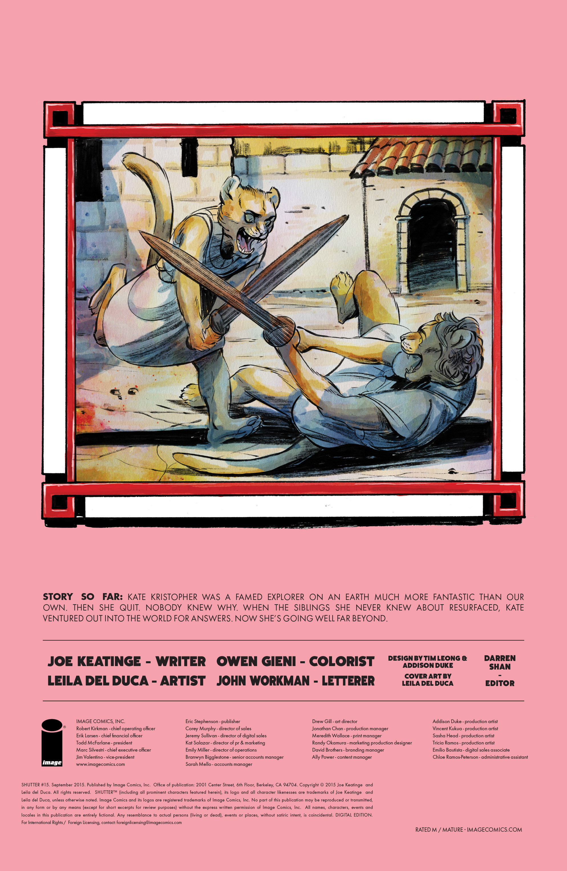 Read online Shutter comic -  Issue #15 - 30