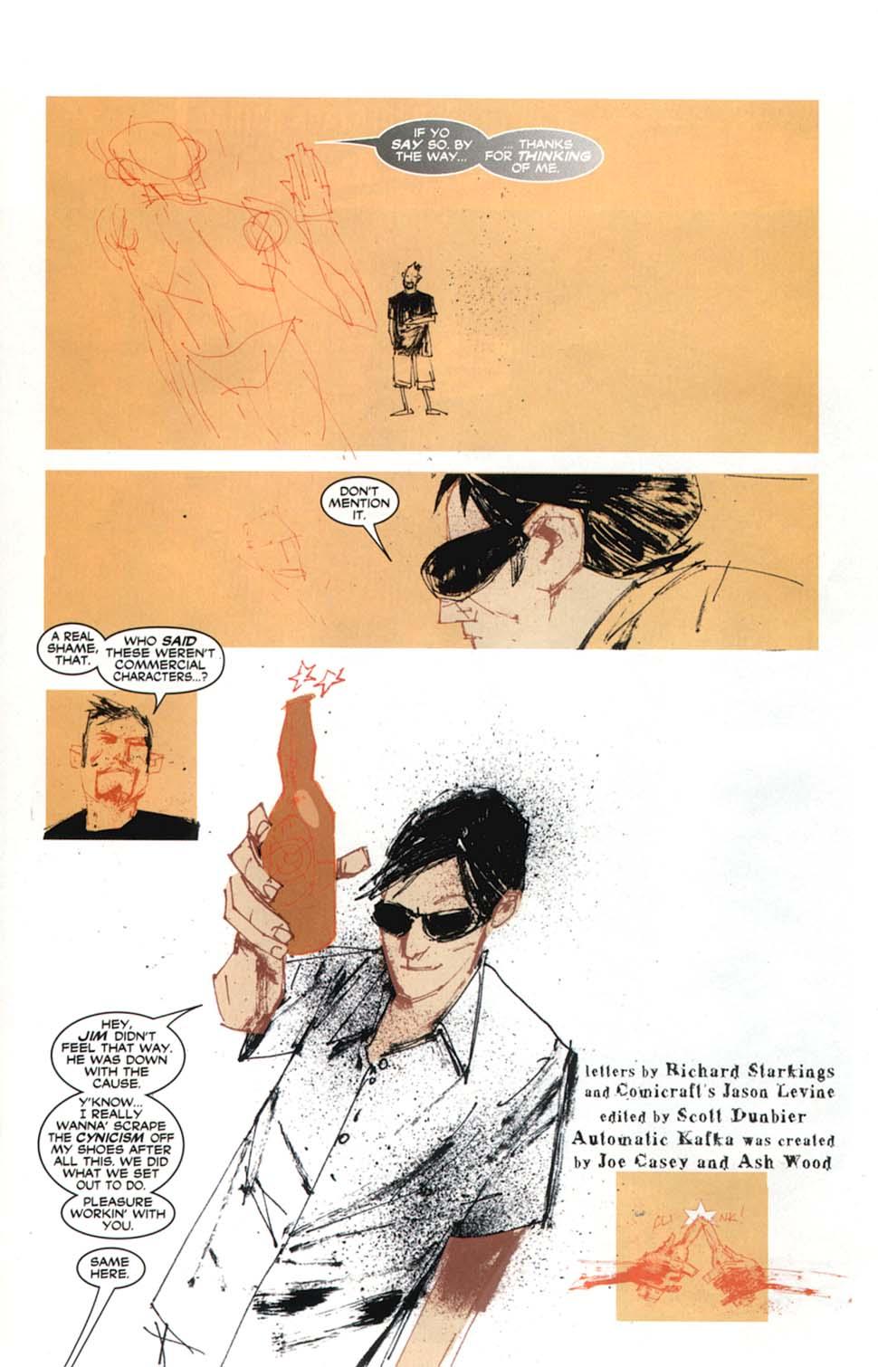 Read online Automatic Kafka comic -  Issue #9 - 22