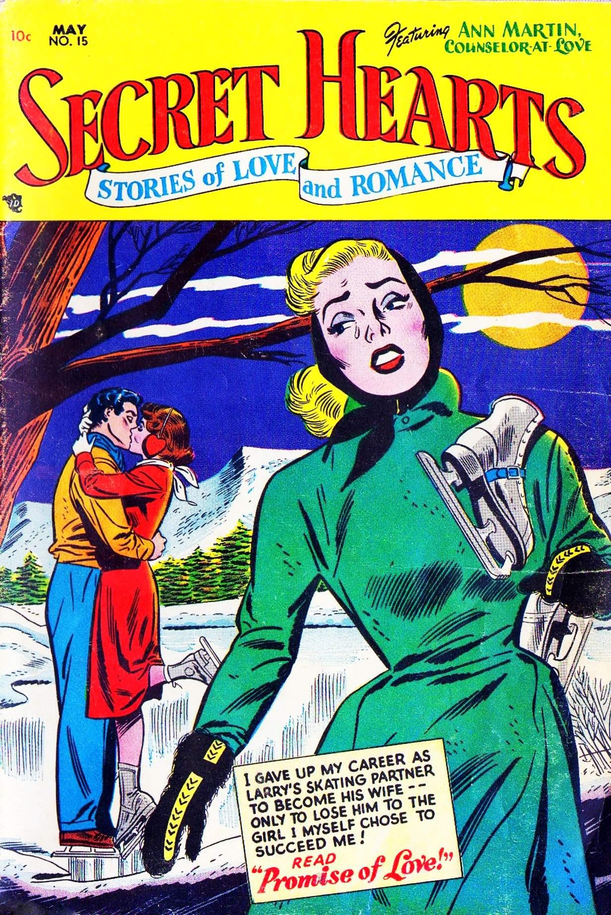 Read online Secret Hearts comic -  Issue #15 - 1