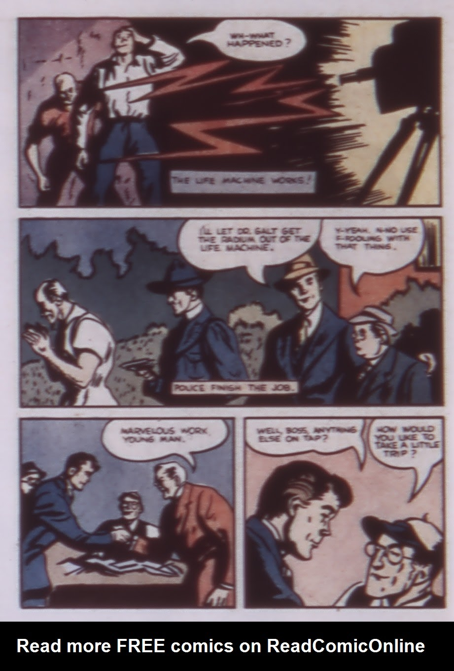 Read online WHIZ Comics comic -  Issue #1 - 48