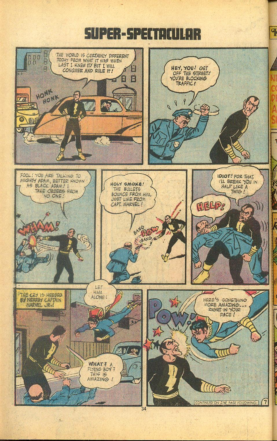 Read online Shazam! (1973) comic -  Issue #8 - 34