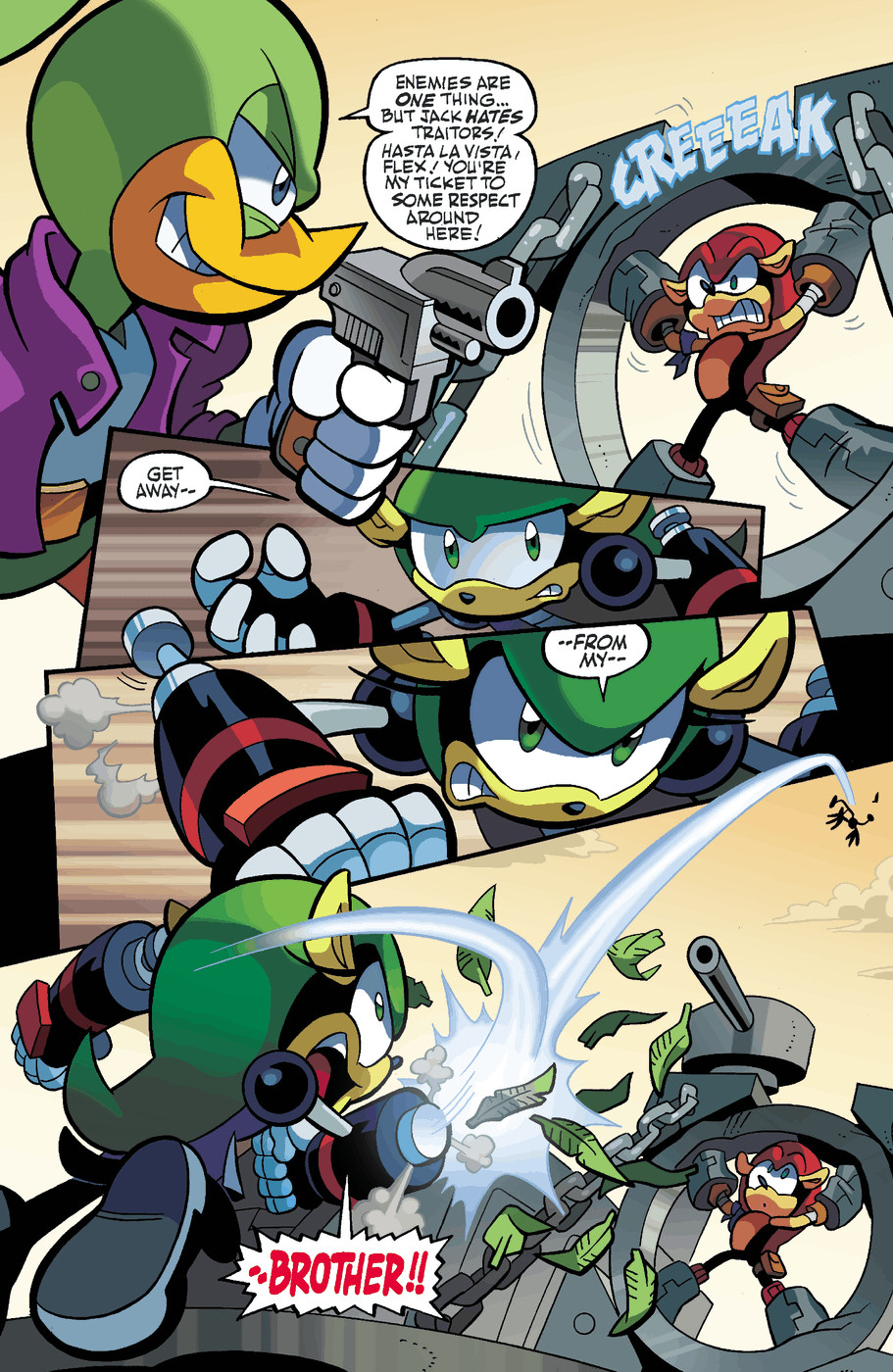 Read online Sonic Universe comic -  Issue #49 - 14
