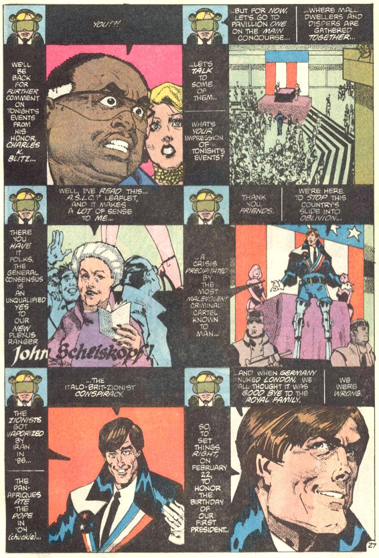 Read online American Flagg! comic -  Issue #9 - 28