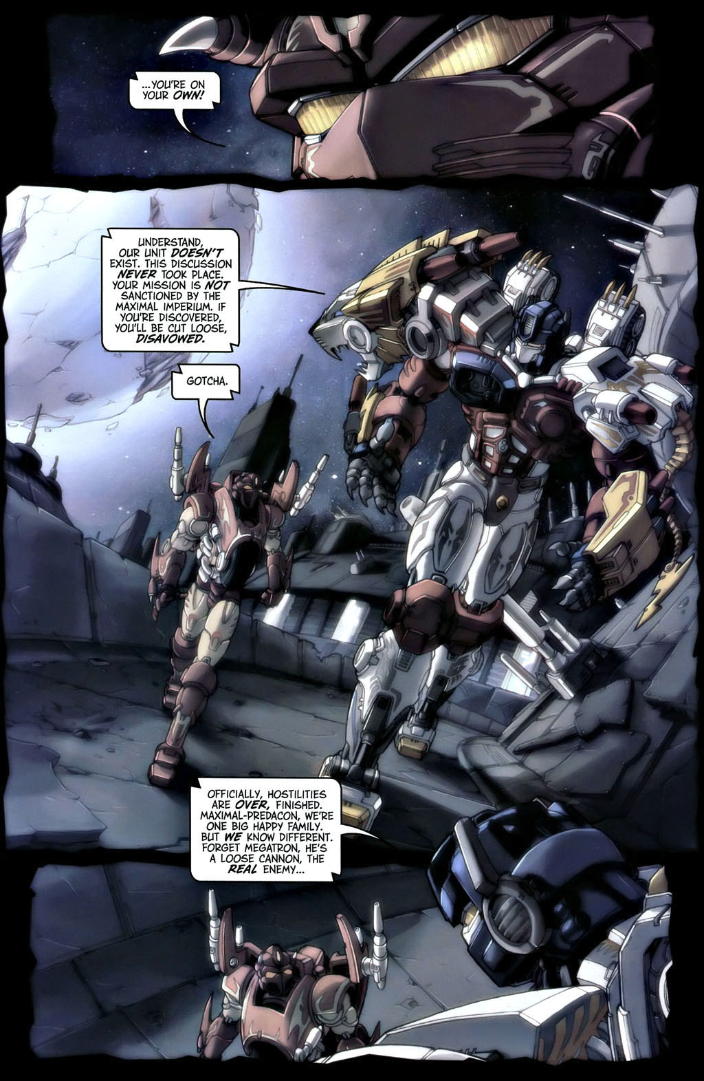 Read online Transformers, Beast Wars: The Gathering comic -  Issue #1 - 12