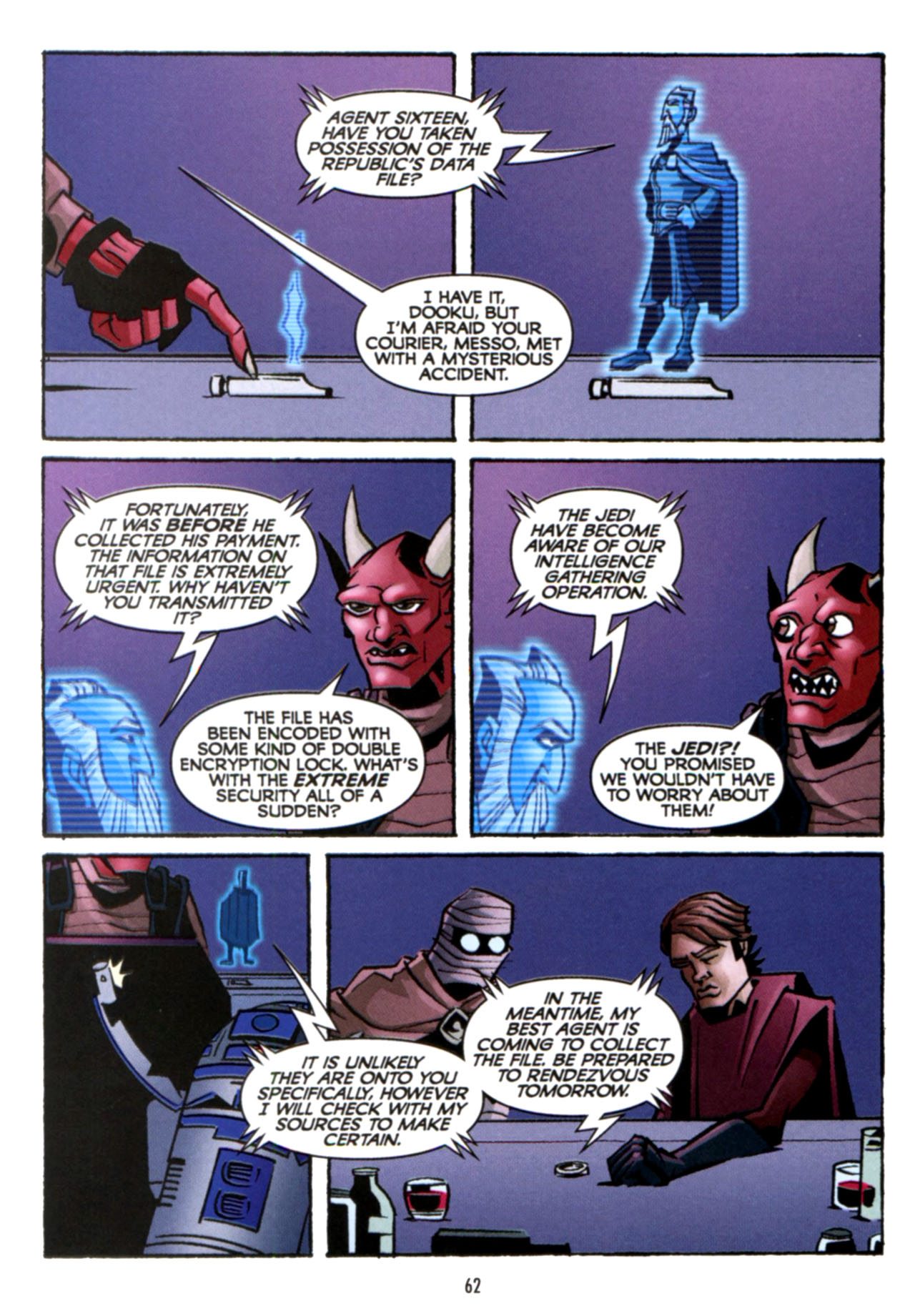Read online Star Wars: The Clone Wars - Crash Course comic -  Issue # Full - 63
