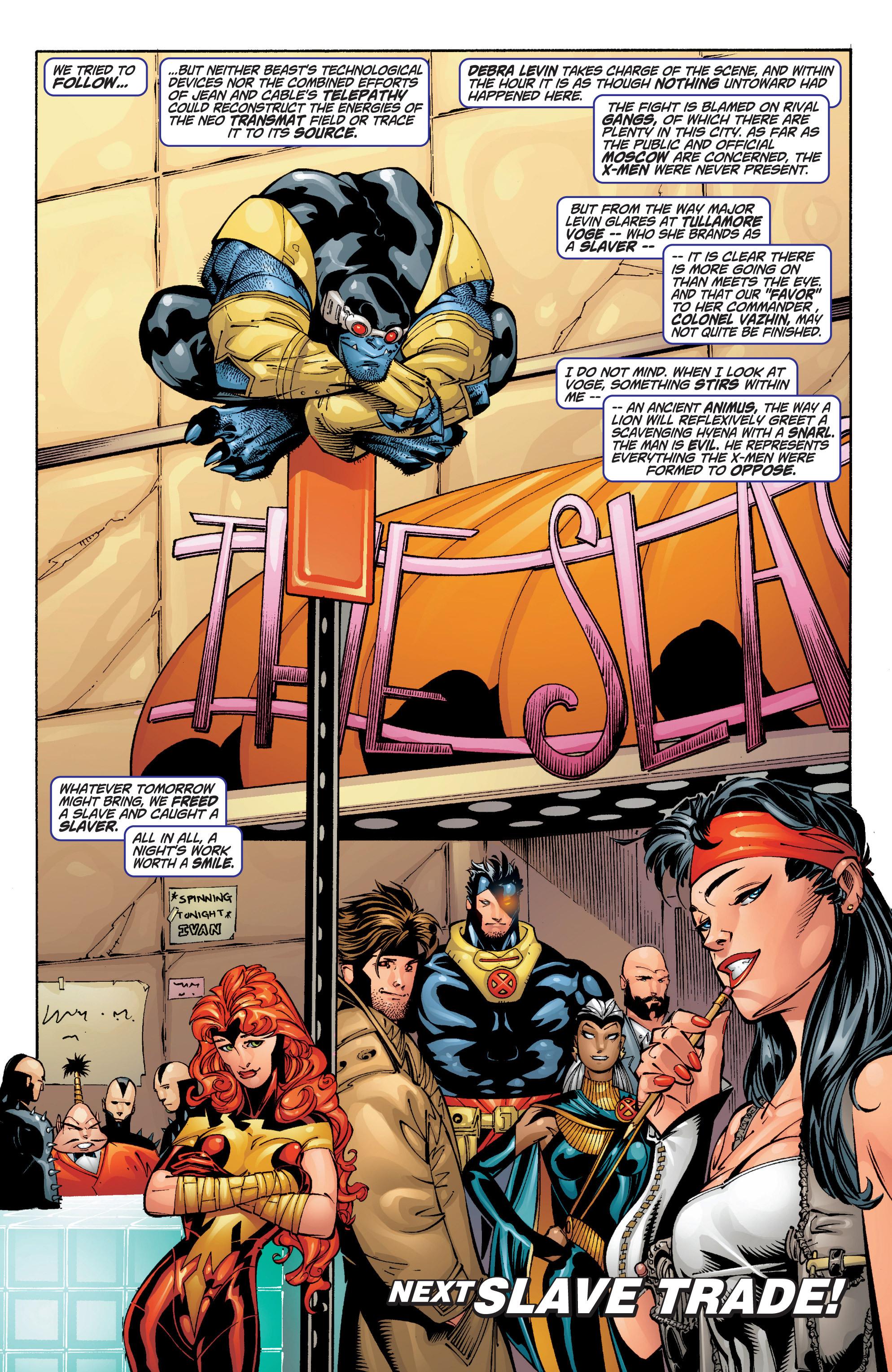 Read online Uncanny X-Men (1963) comic -  Issue #383 - 33
