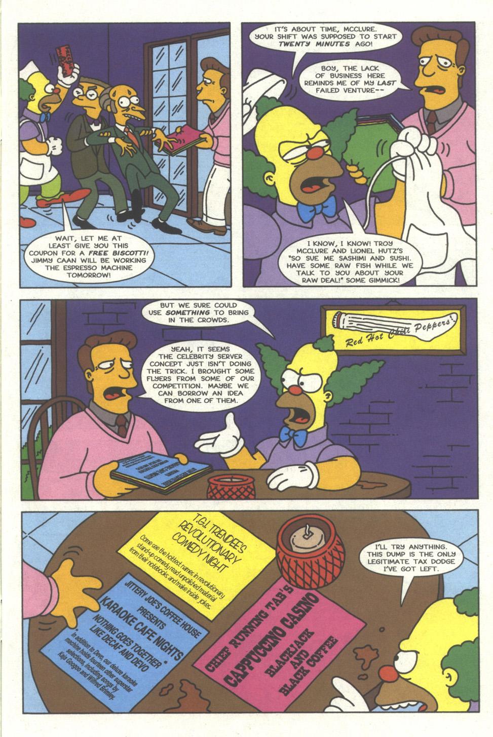 Read online Simpsons Comics comic -  Issue #32 - 4