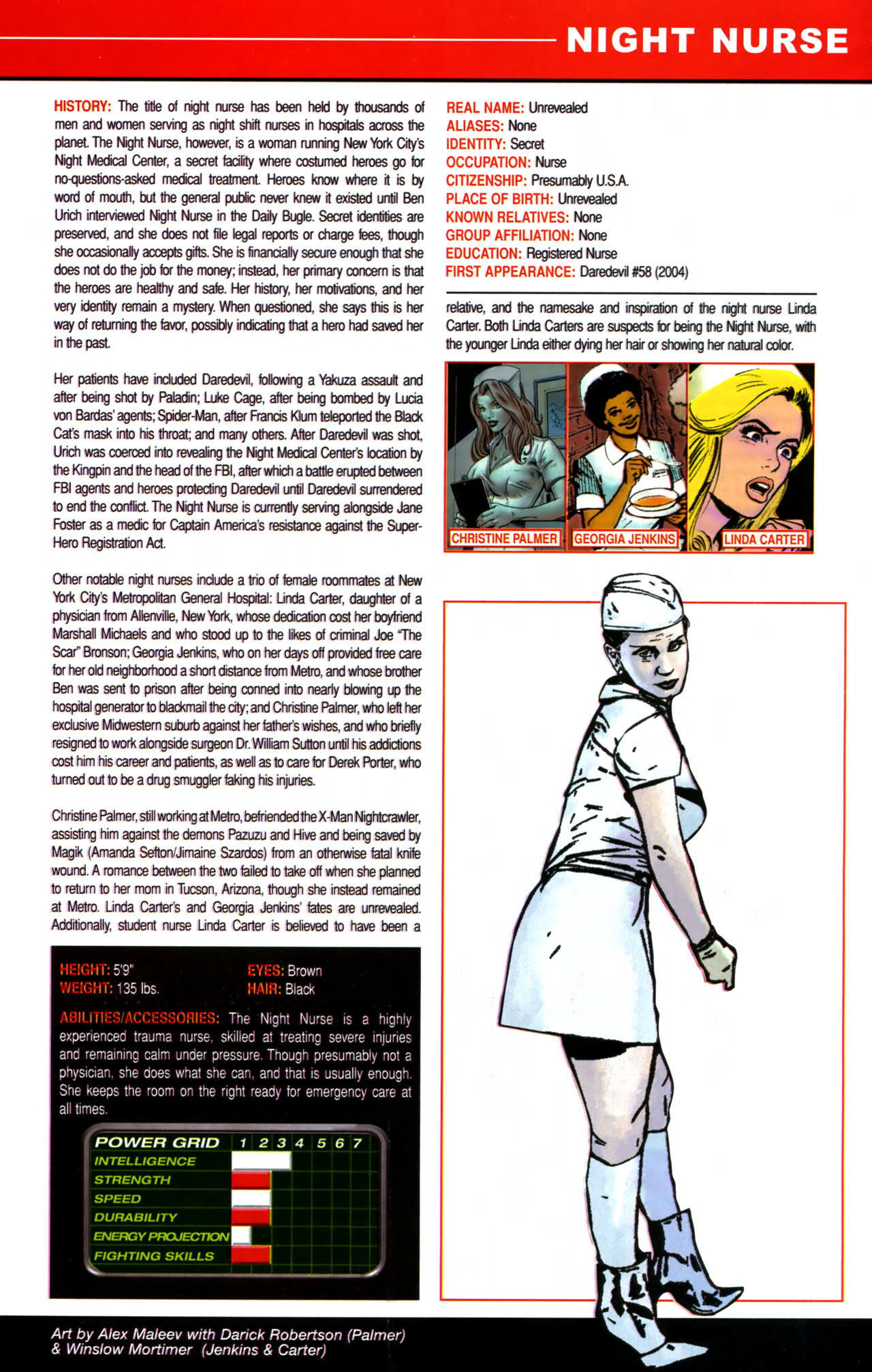 Read online All-New Official Handbook of the Marvel Universe A to Z comic -  Issue #8 - 11