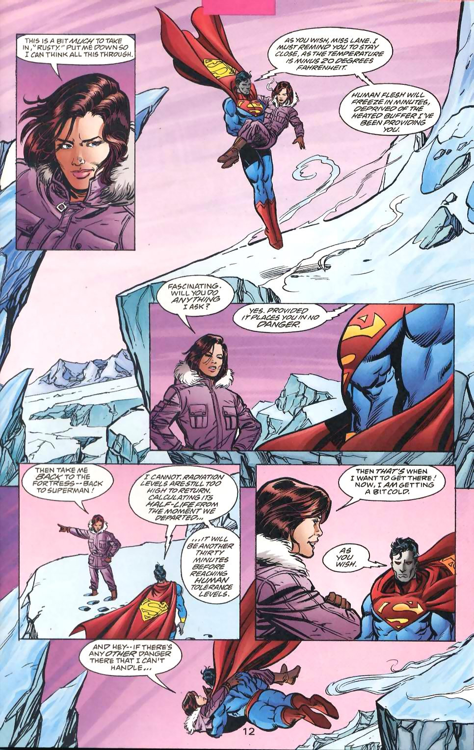 Read online Adventures of Superman (1987) comic -  Issue #567 - 14