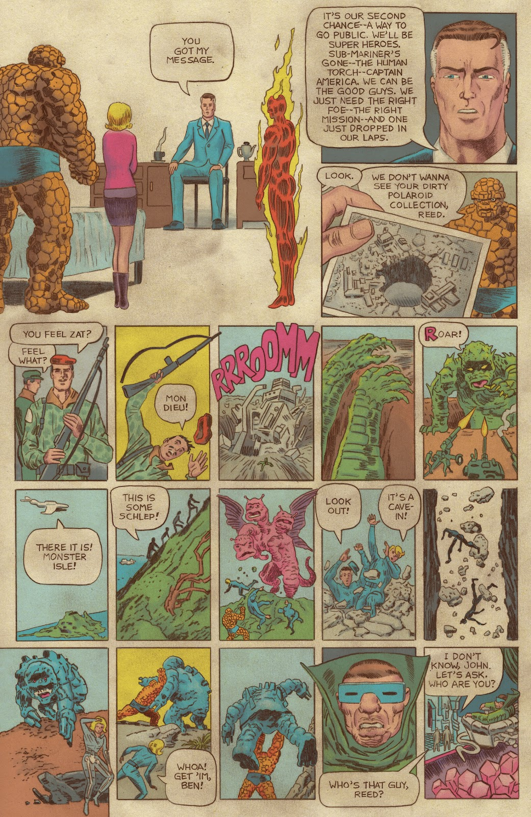 Read online Fantastic Four: Grand Design comic -  Issue #1 - 19