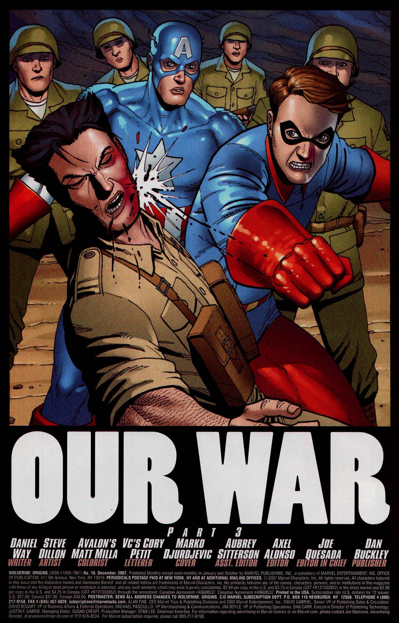 Read online Wolverine: Origins comic -  Issue #18 - 3