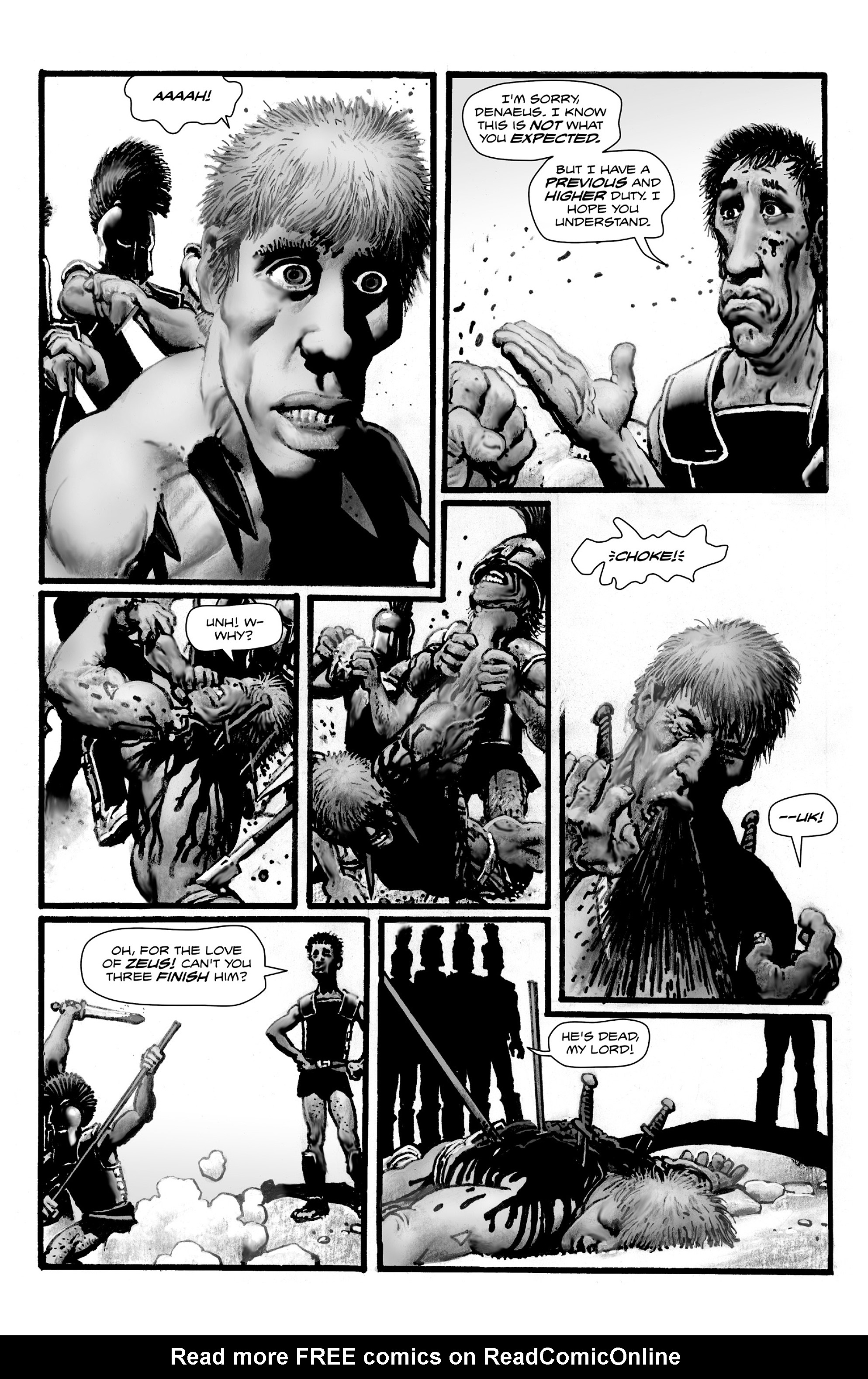 Read online Shadows on the Grave comic -  Issue #4 - 29