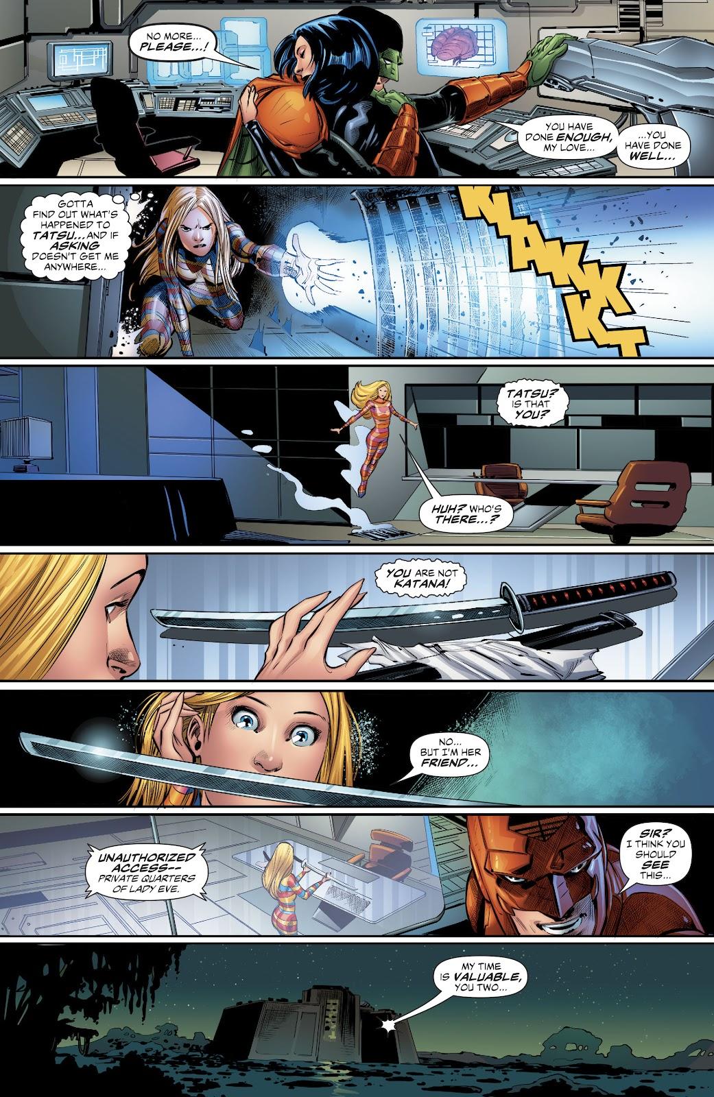 Read online Suicide Squad Black Files comic -  Issue #4 - 20