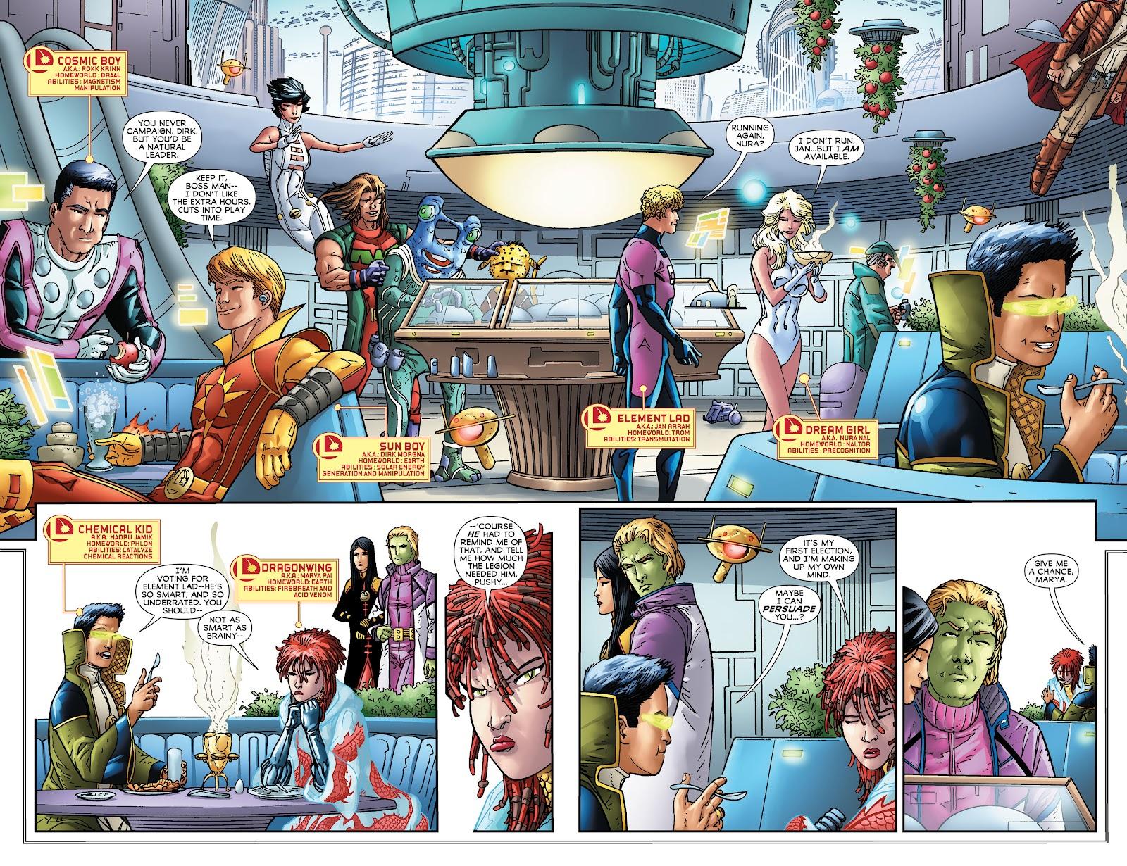 Legion of Super-Heroes (2011) Issue #16 #17 - English 3