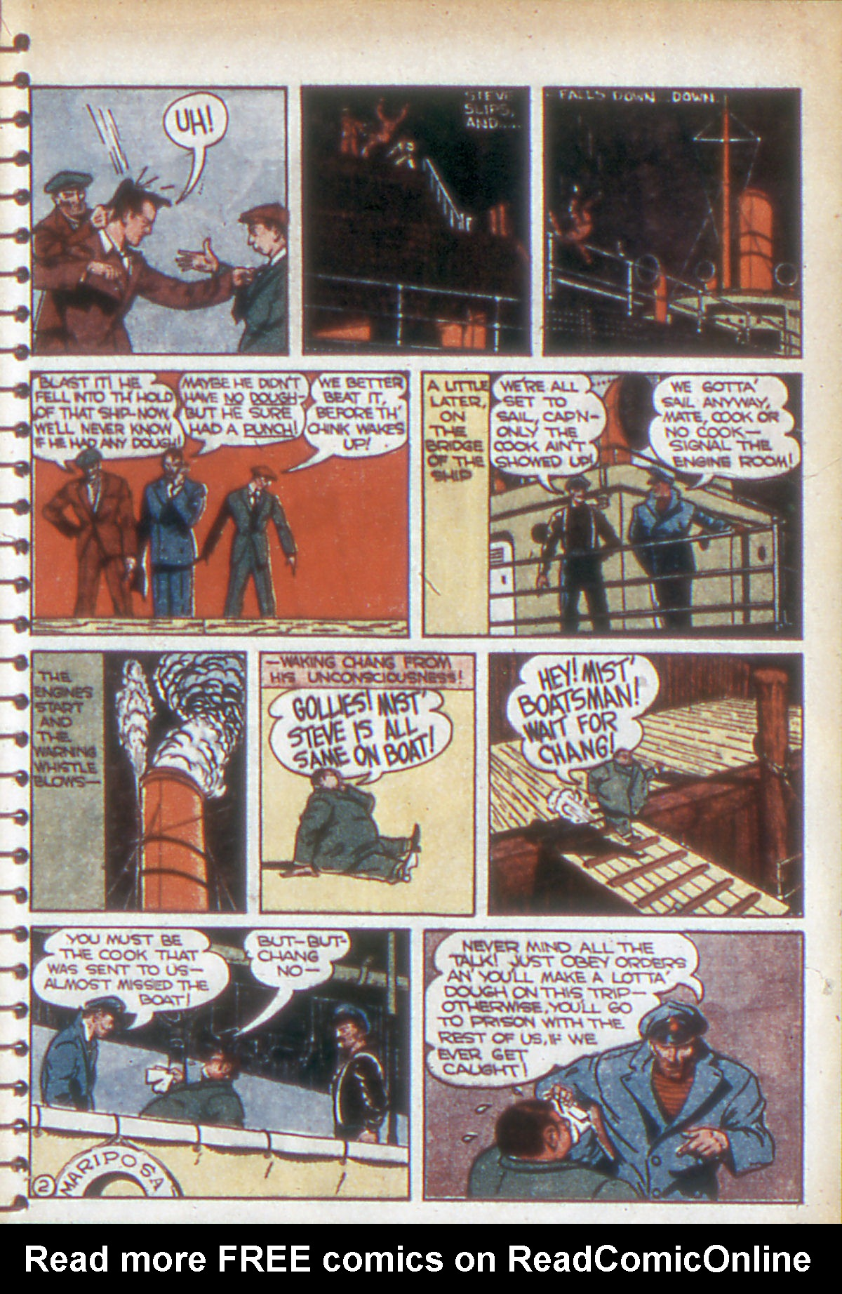 Read online Adventure Comics (1938) comic -  Issue #53 - 42