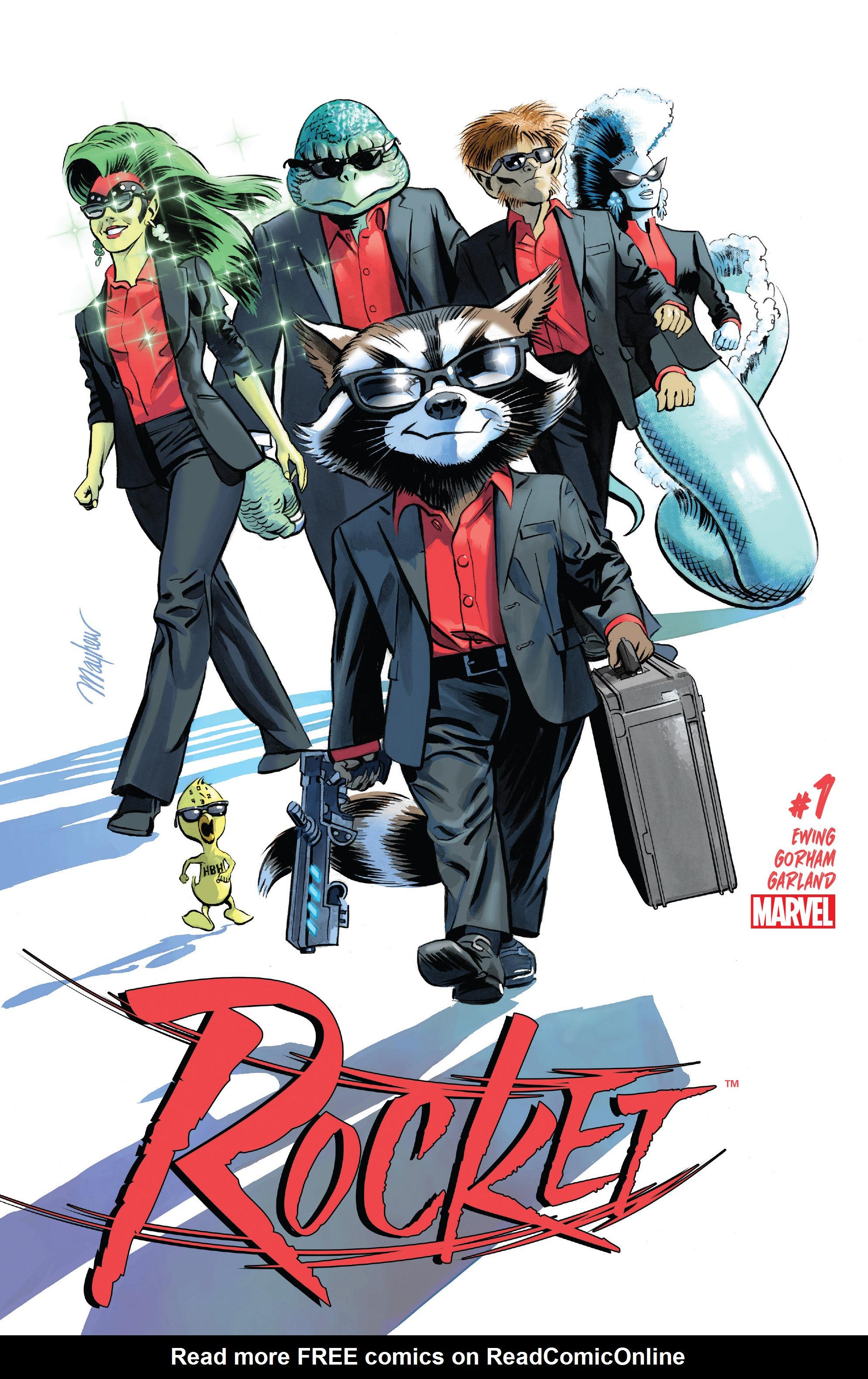 Read online Rocket comic -  Issue #1 - 1