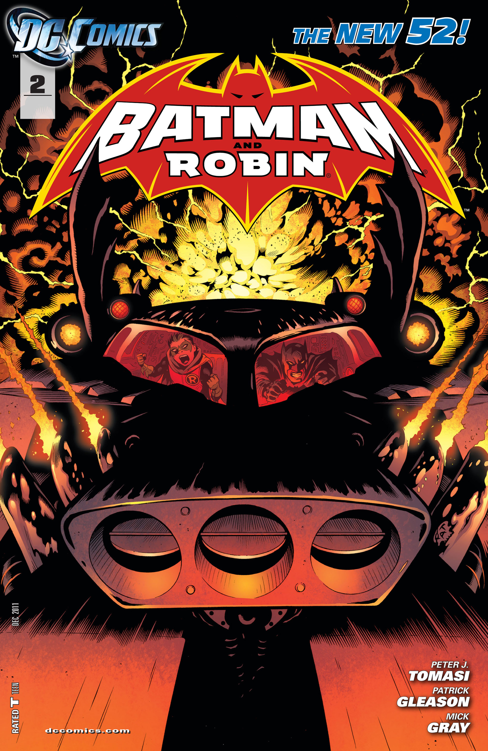 Read online Batman and Robin (2011) comic -  Issue #2 - 1