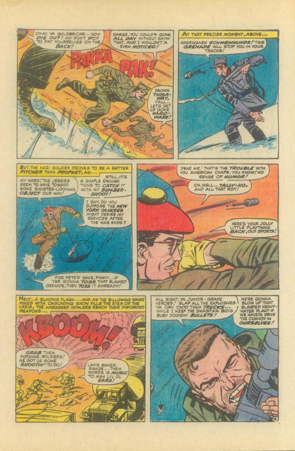 Read online Sgt. Fury comic -  Issue #93 - 21