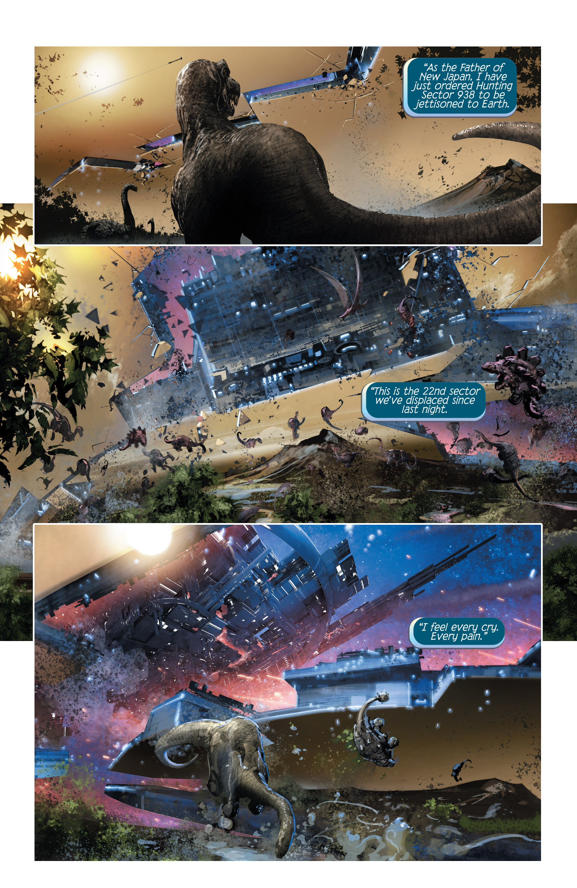 Read online 4001 A.D. comic -  Issue #1 - 8