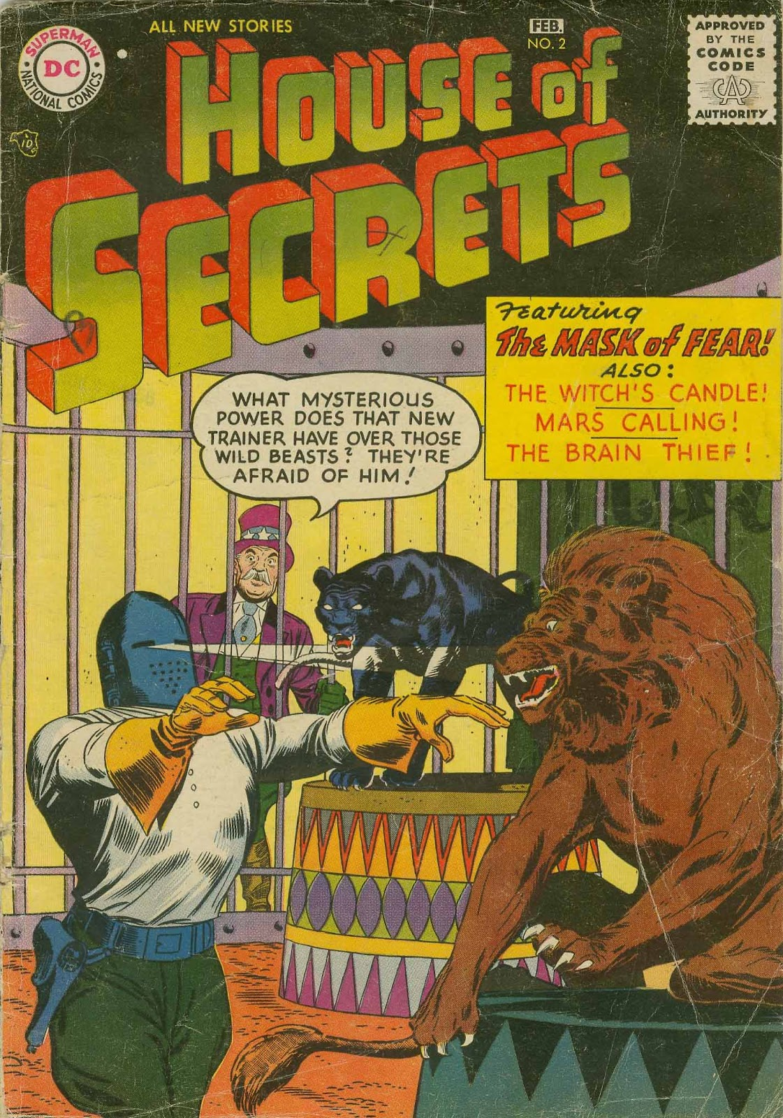 House of Secrets (1956) issue 2 - Page 1