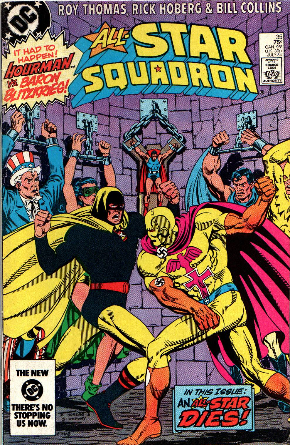 Read online All-Star Squadron comic -  Issue #35 - 1
