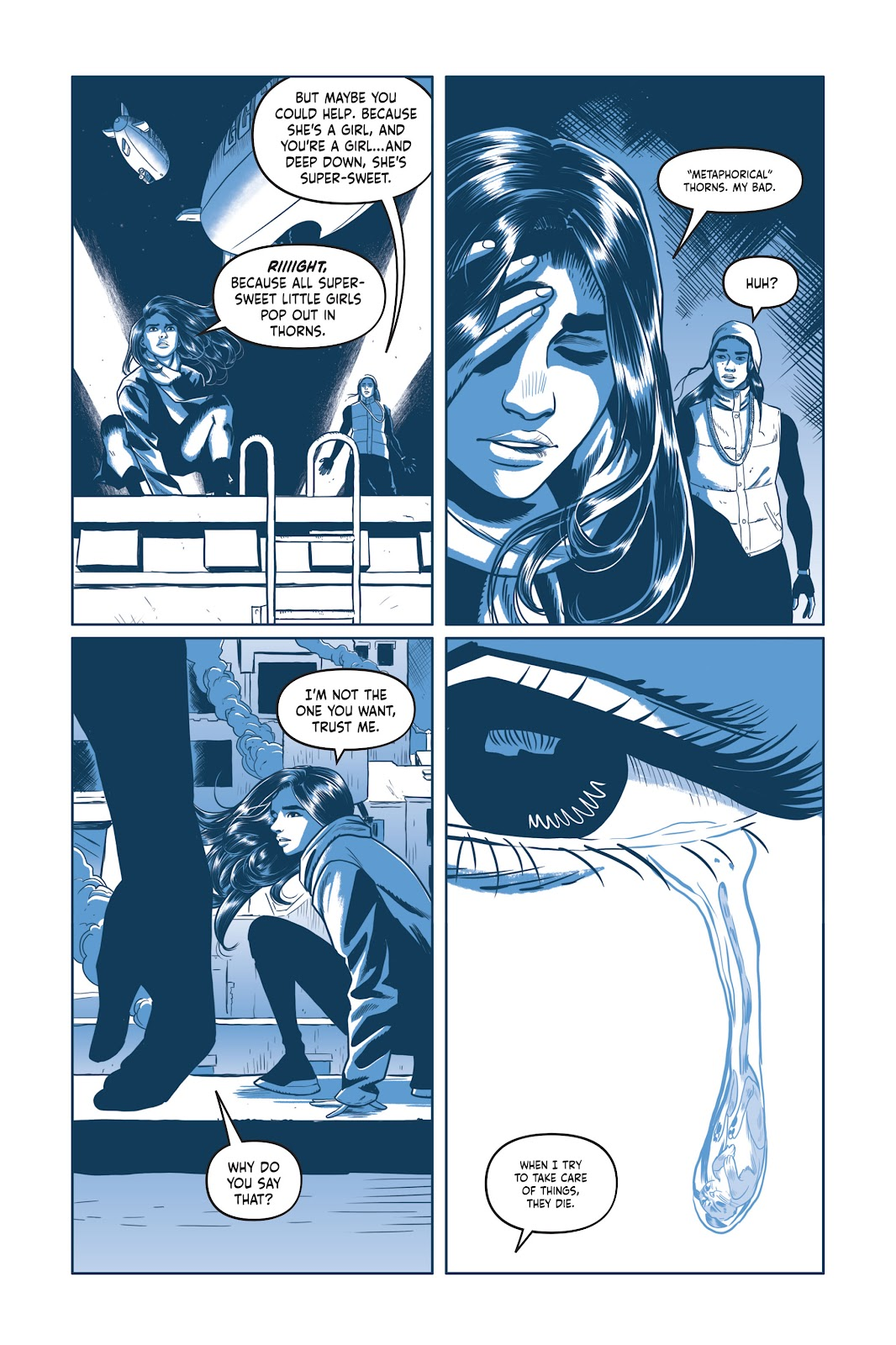 Read online Under the Moon: A Catwoman Tale comic -  Issue # TPB (Part 1) - 98
