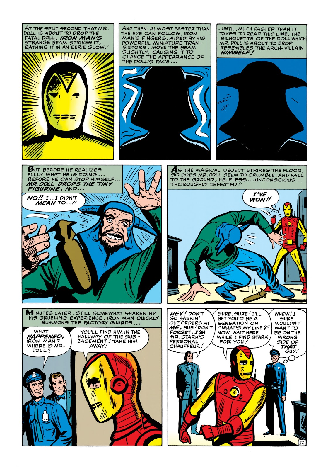 Read online Marvel Masterworks: The Invincible Iron Man comic -  Issue # TPB 1 (Part 2) - 56