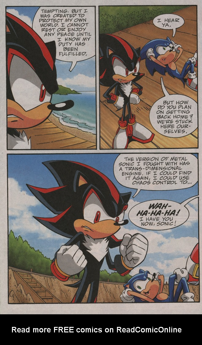 Read online Sonic X comic -  Issue #40 - 24