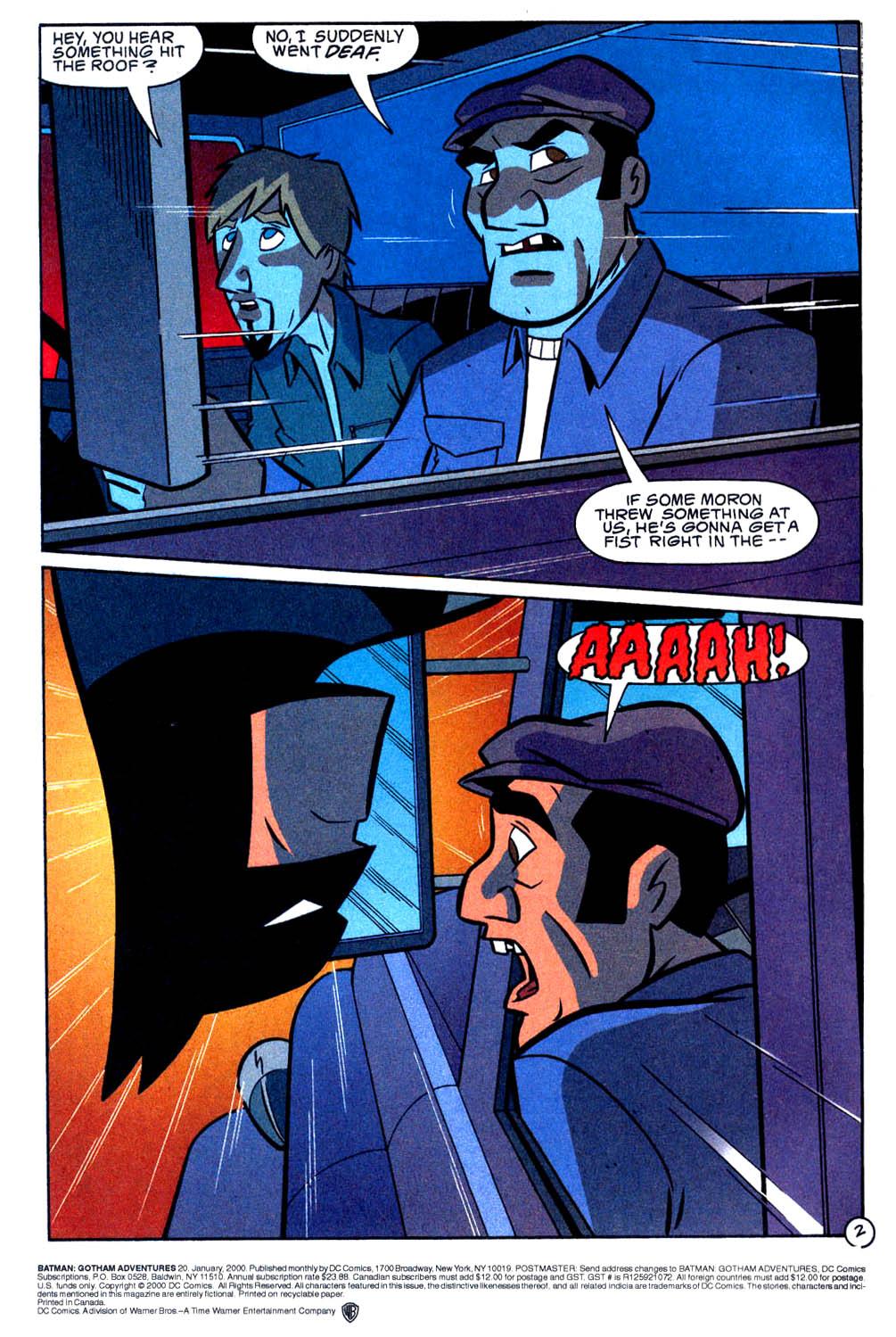 Comic Batman: Gotham Adventures issue 20
