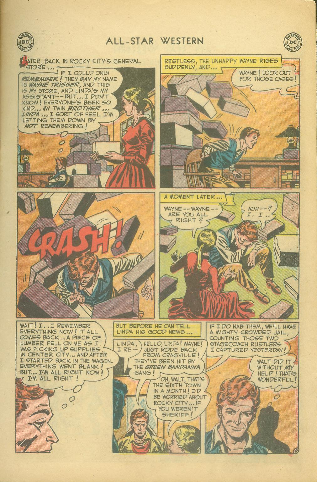 Read online All-Star Western (1951) comic -  Issue #65 - 7
