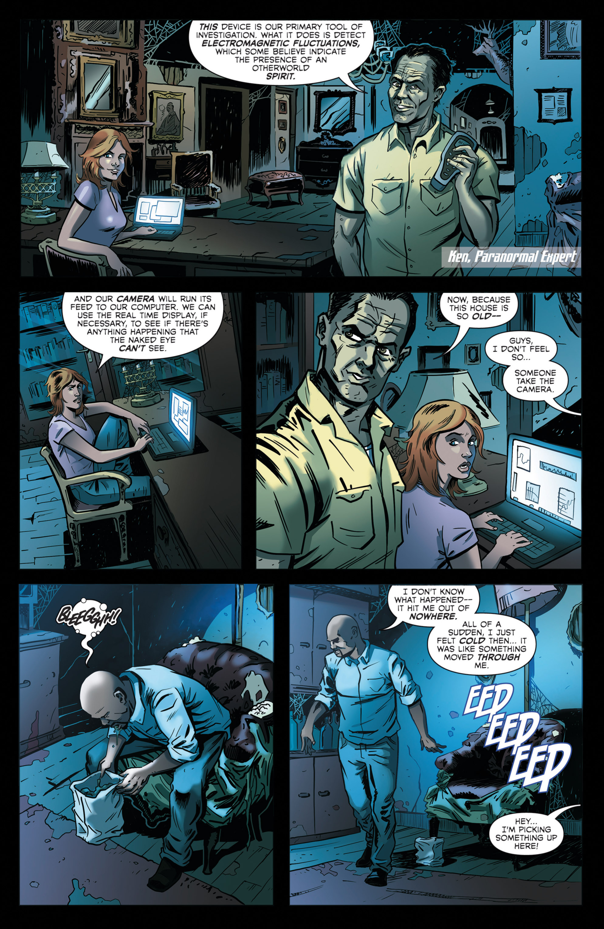 Read online Hoax Hunters (2012) comic -  Issue # TPB 2 - 75