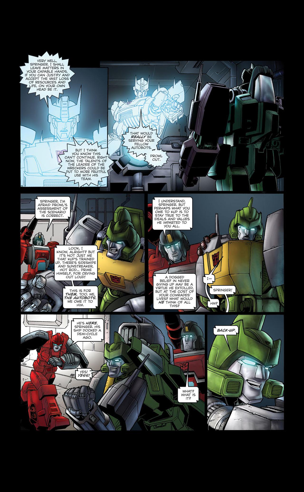Read online Transformers Spotlight: Kup comic -  Issue # Full - 22
