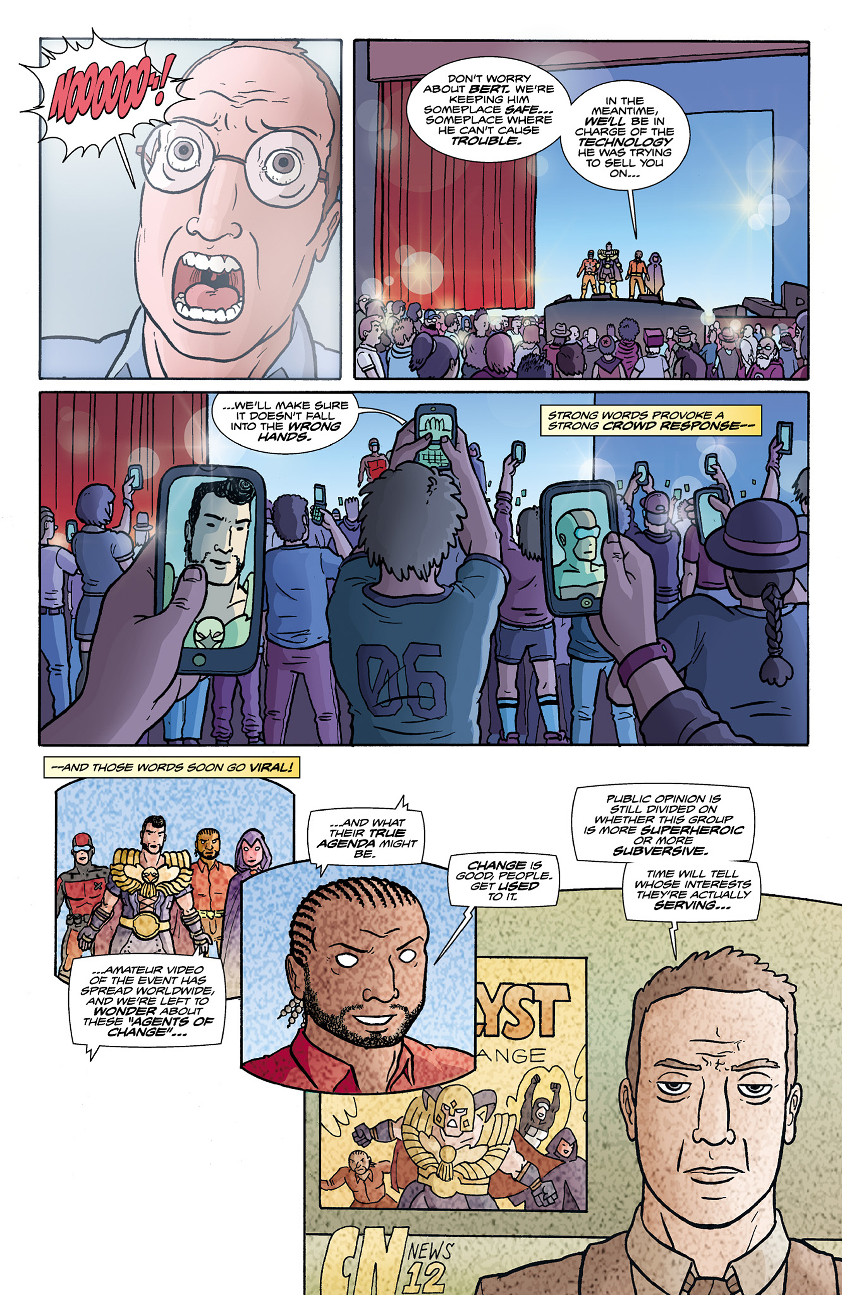 Read online Catalyst Comix comic -  Issue #9 - 16