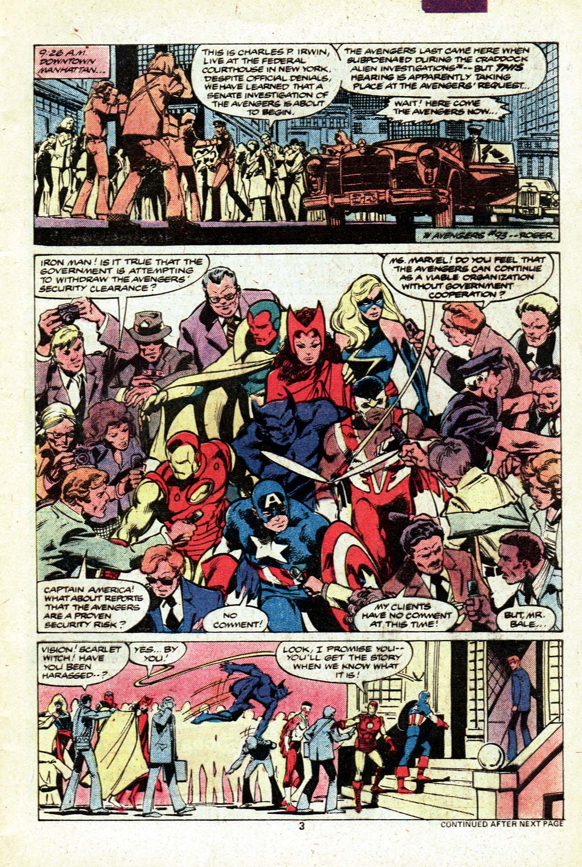 The Avengers (1963) 190 Page 3