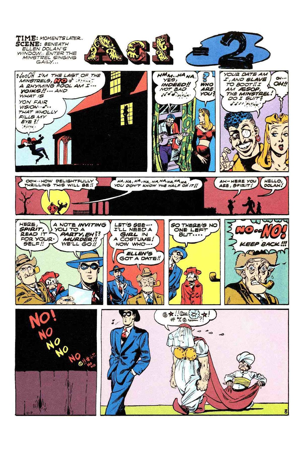 Read online Will Eisner's The Spirit Archives comic -  Issue # TPB 3 (Part 2) - 80