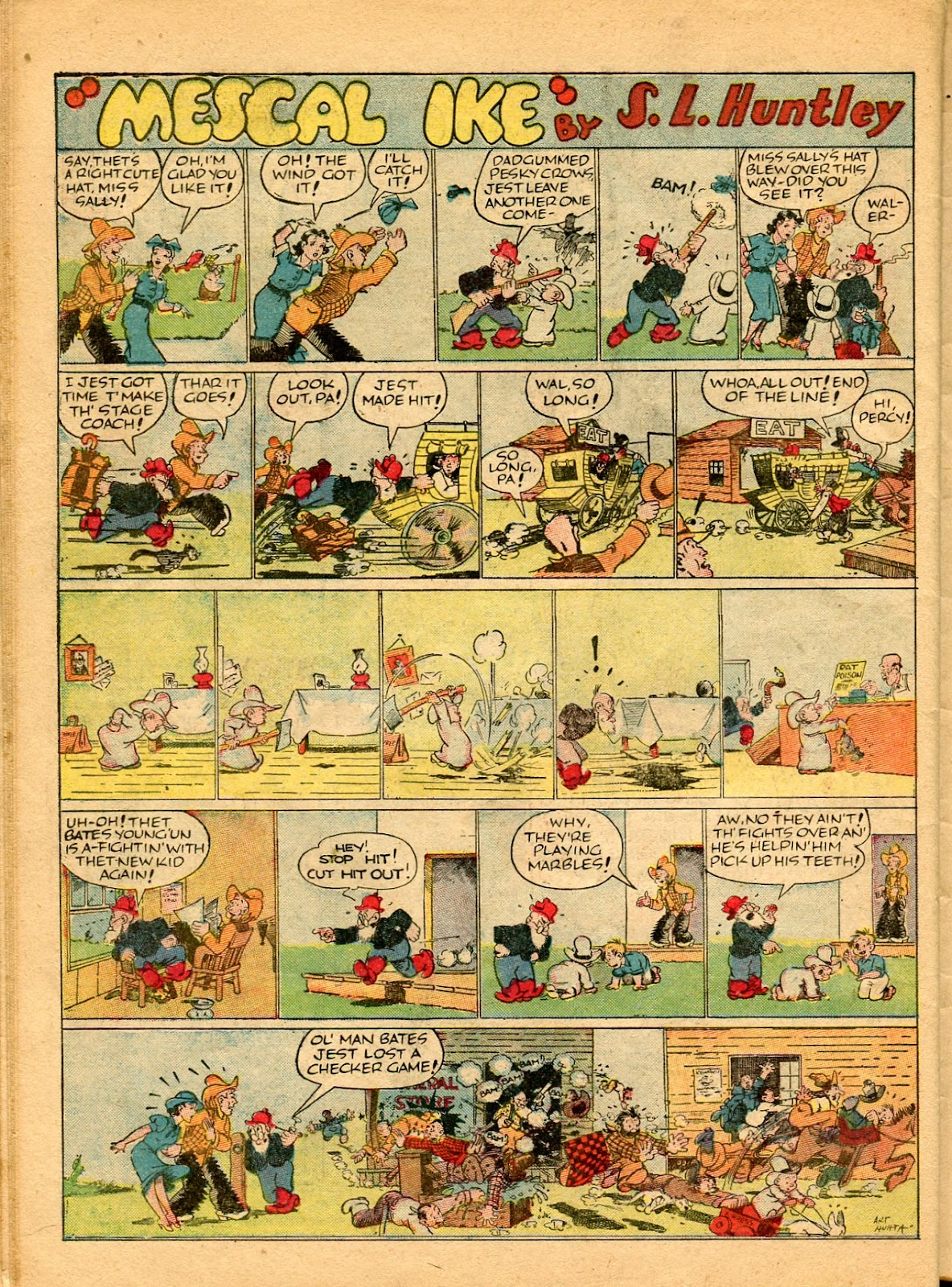 Read online Famous Funnies comic -  Issue #49 - 50